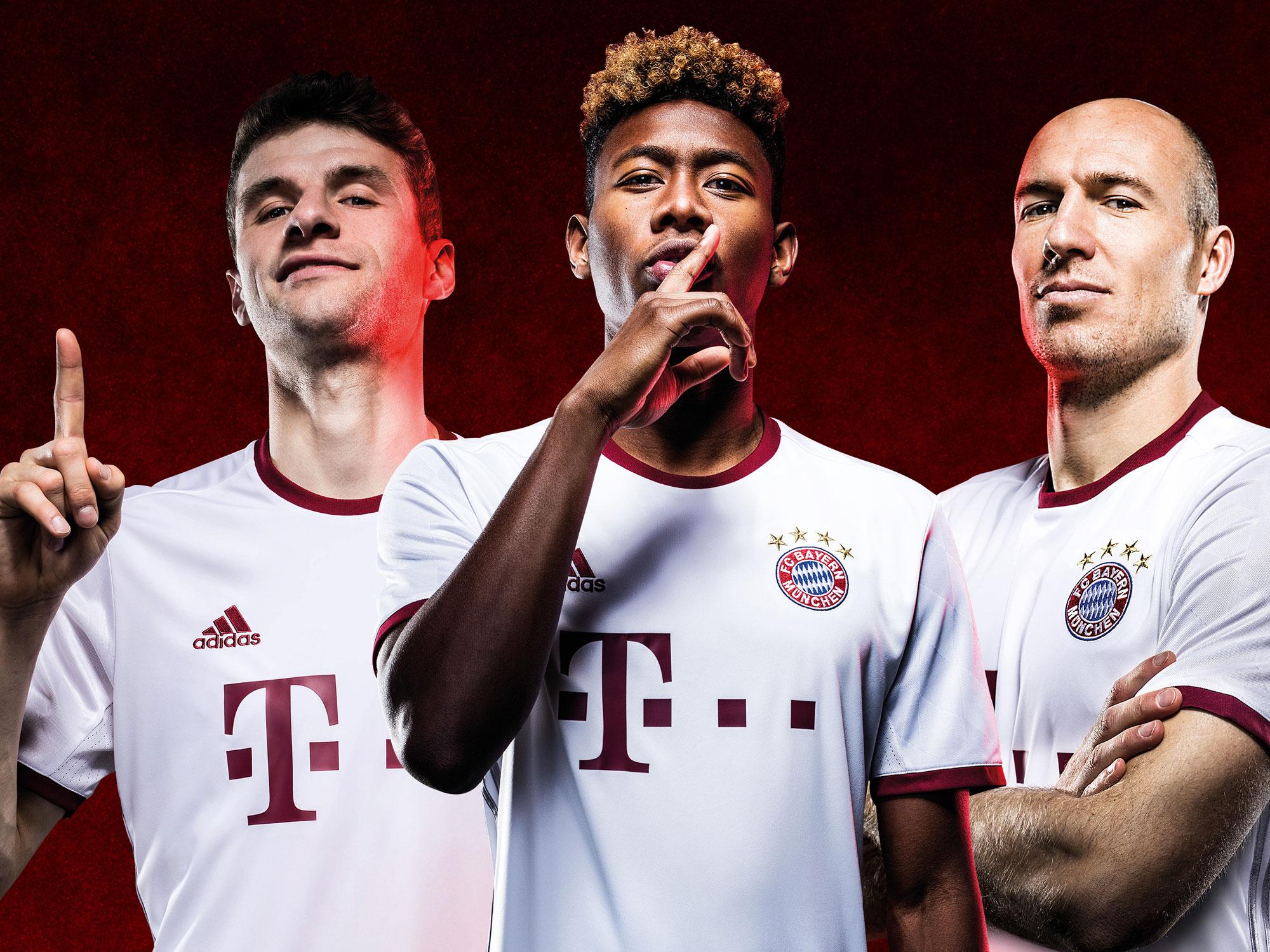 Bayern Munich's new third uniform