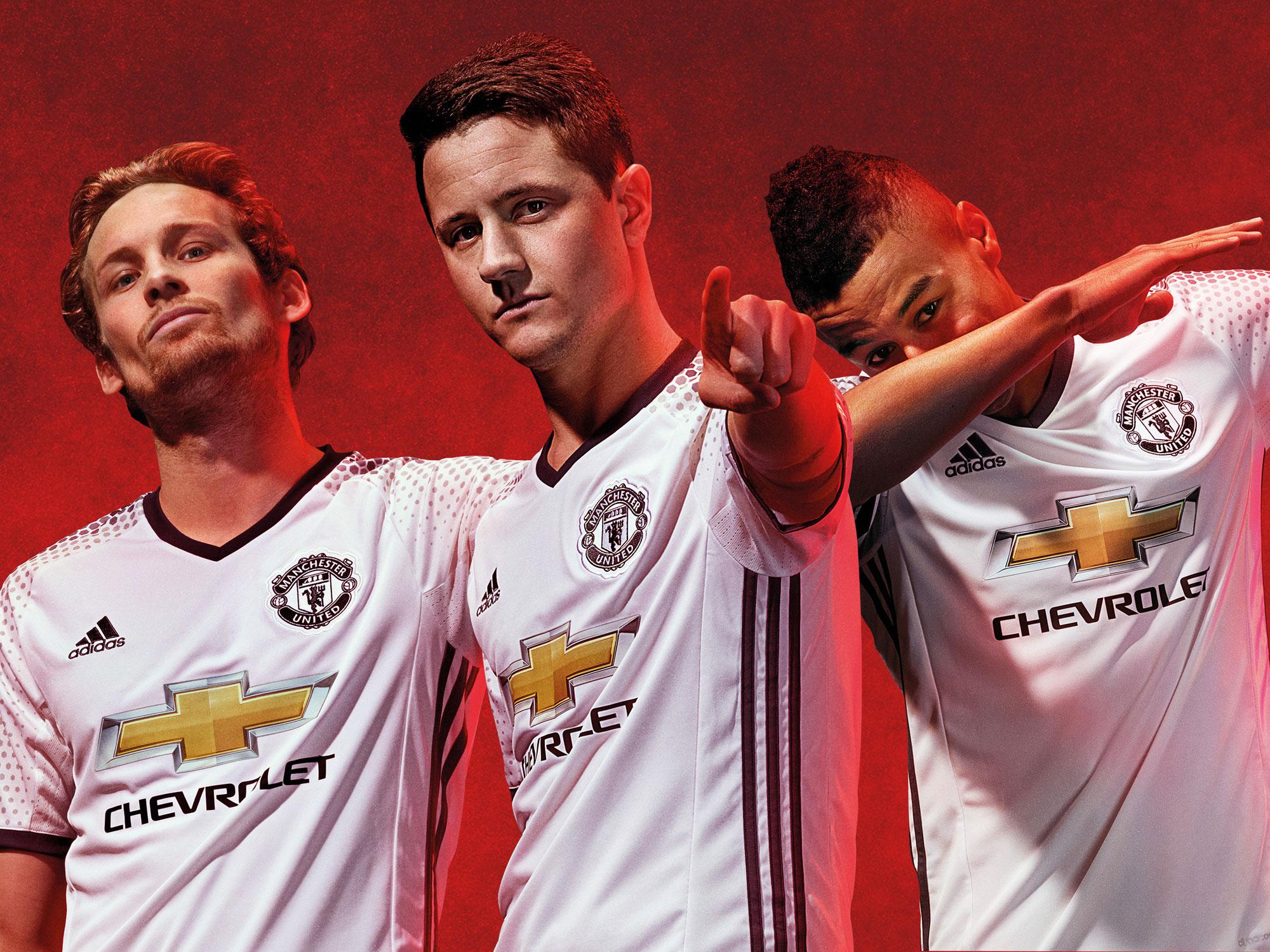 Manchester United's new third uniform