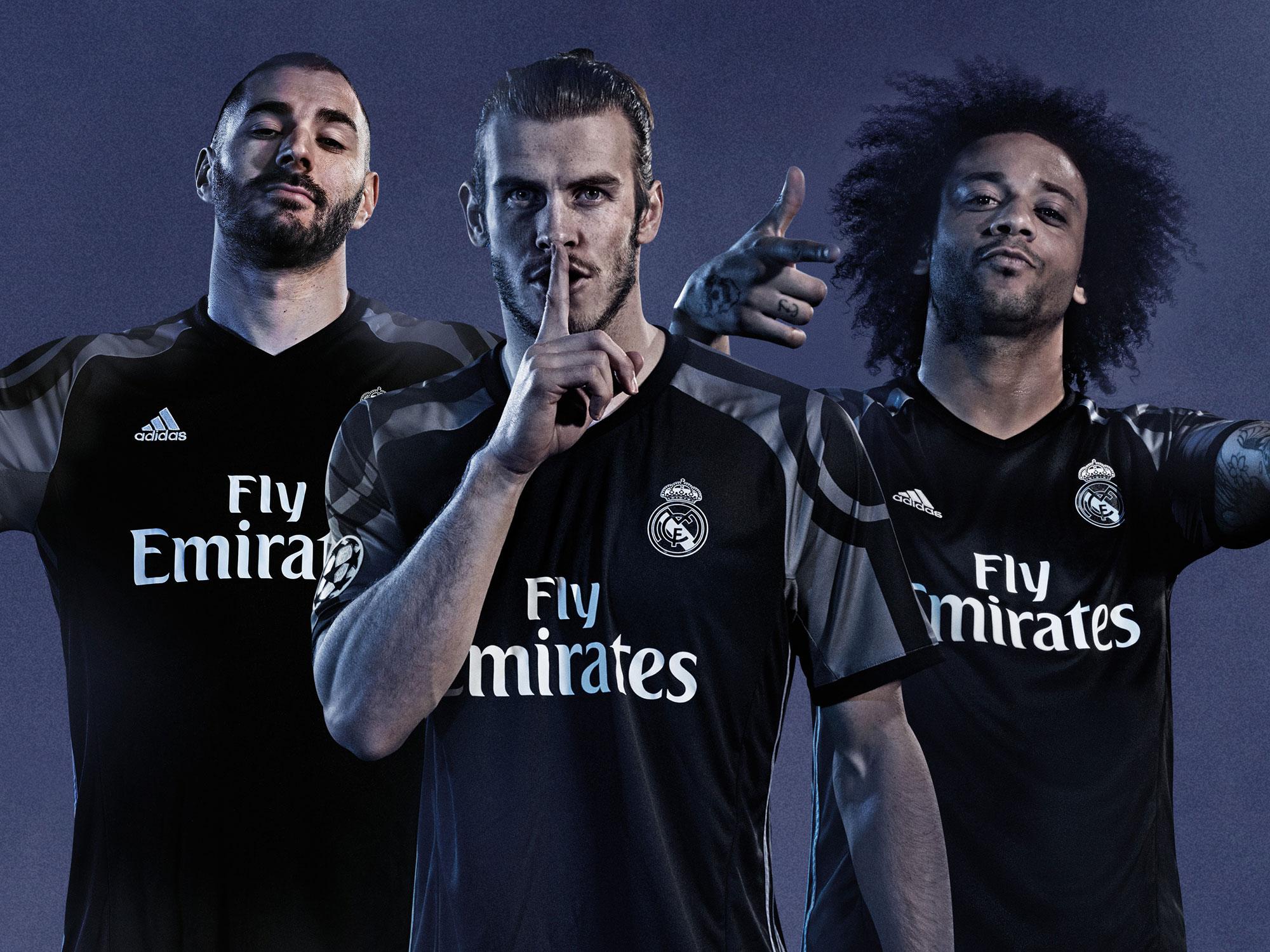 Real Madrid's new third uniform