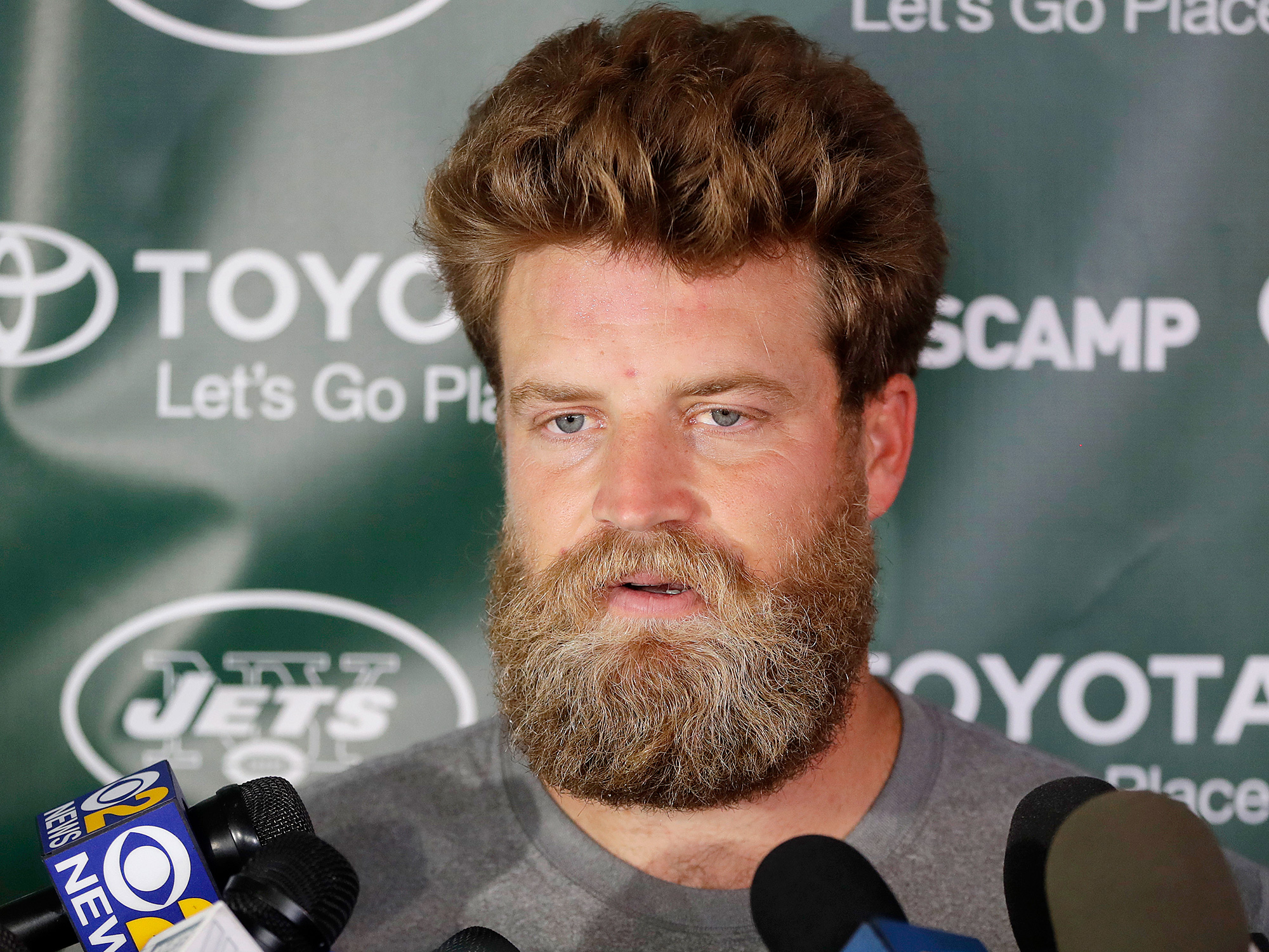 Jets training camp notes: Ryan Fitzpatrick is back