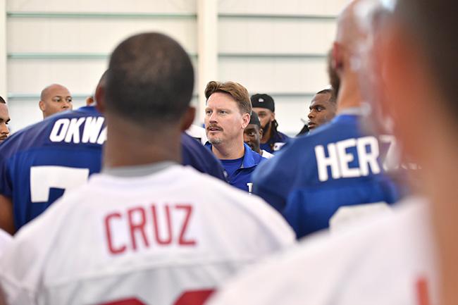New Giants head coach Ben McAdoo.