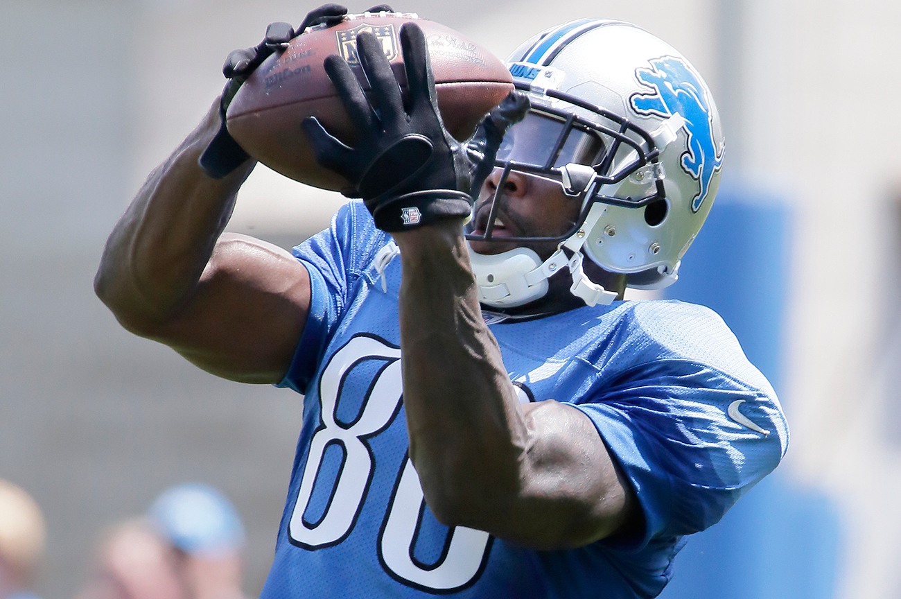 New Lion Anquan Boldin ranks 17th on the NFL's career receiving yards list with 13,195.