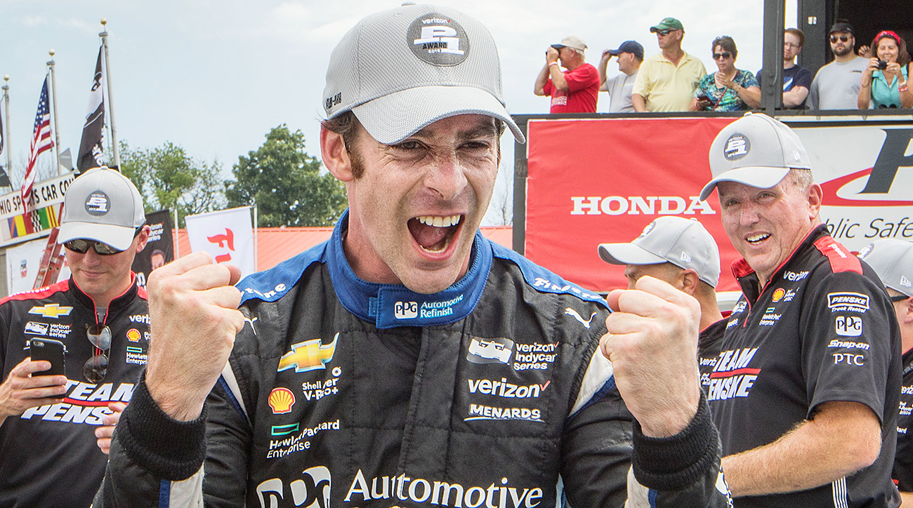Simon Pagenaud beats Will Power at Honda Indy 200