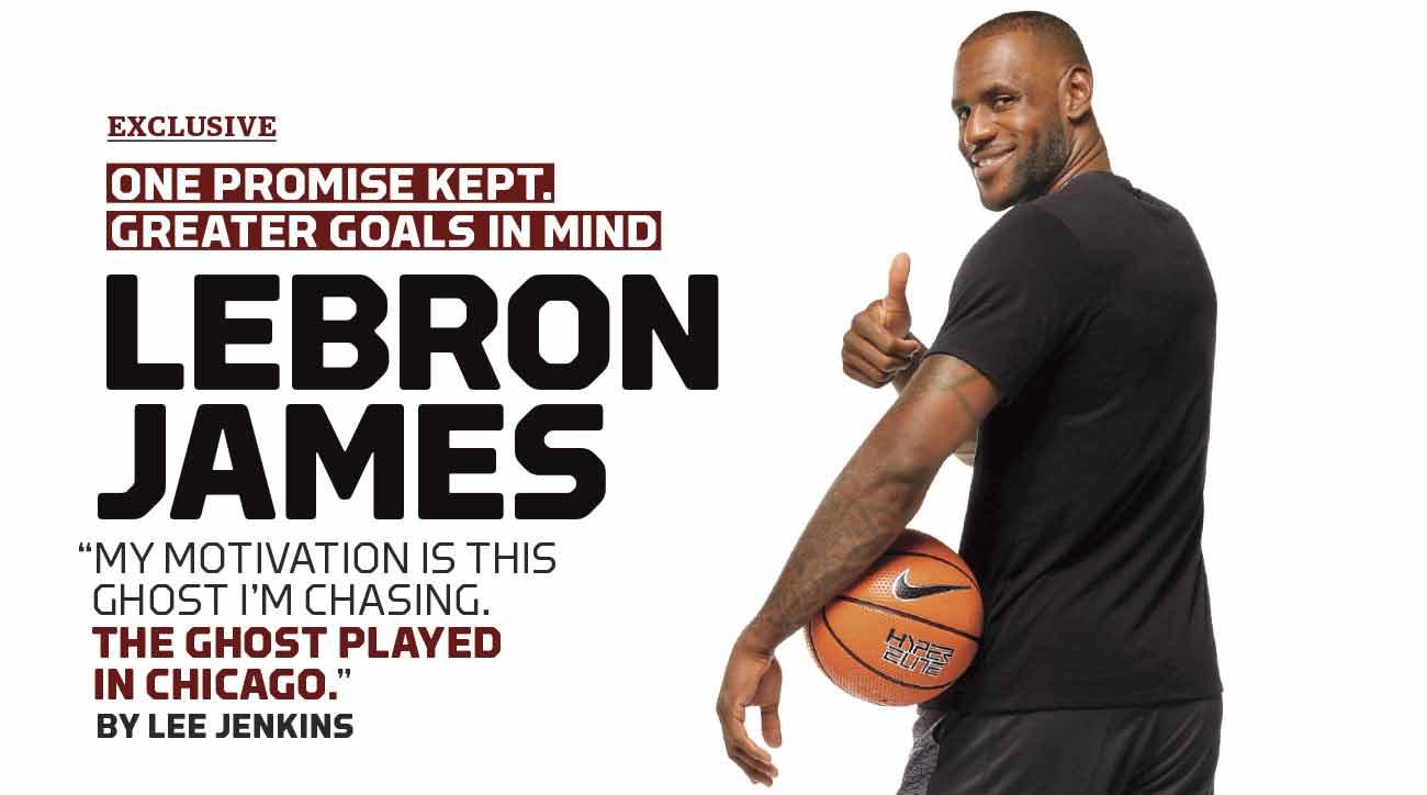 LeBron James and the ghost of Michael Jordan