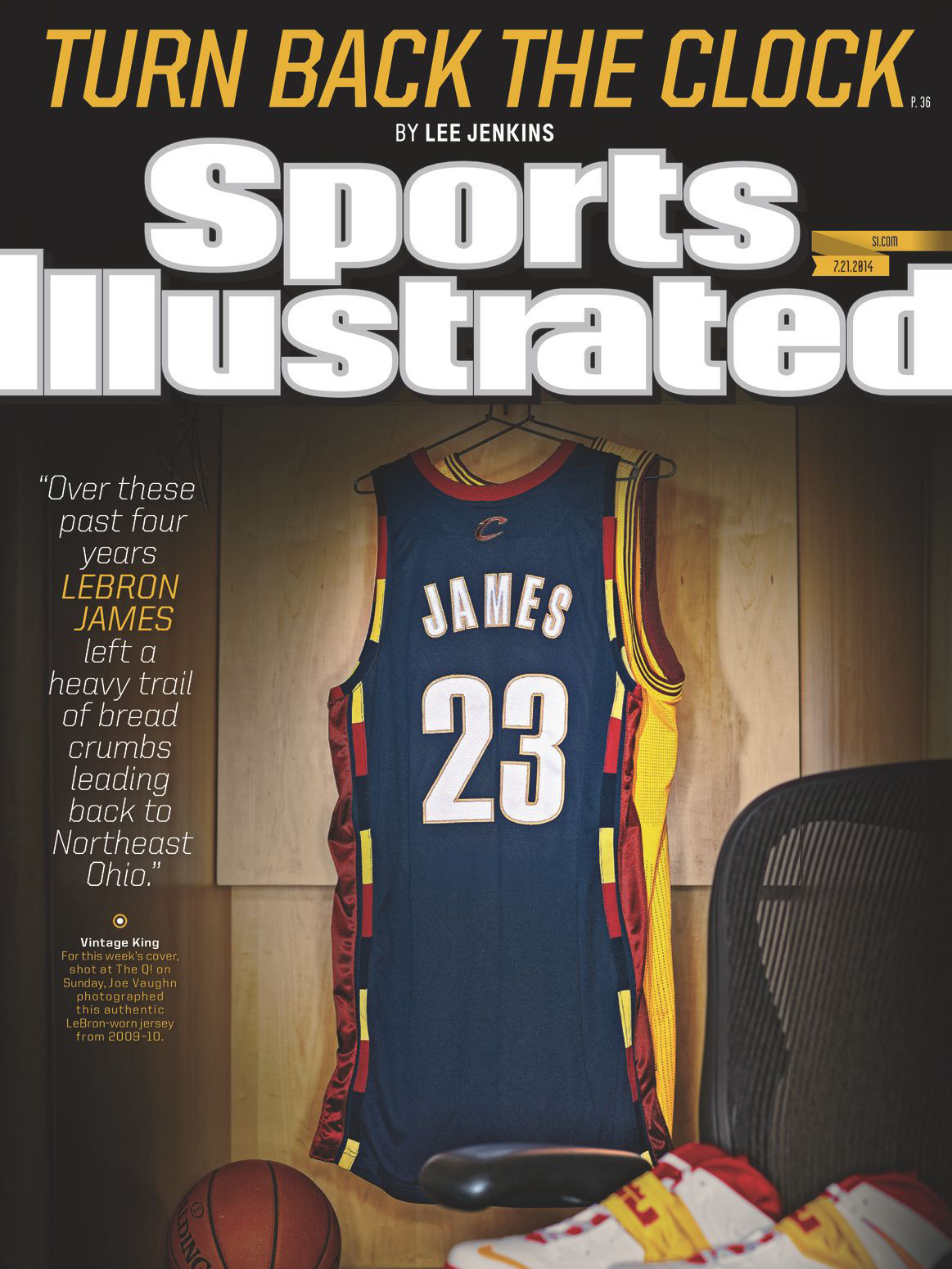sports illustrated lebron cover