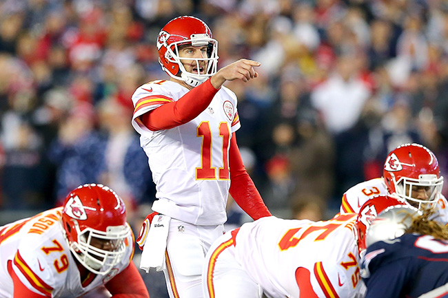 Smith has his shortcomings, but he's fine for what the Chiefs do.