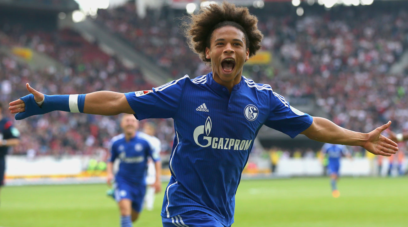 Leroy Sane leaves Schalke for Manchester City