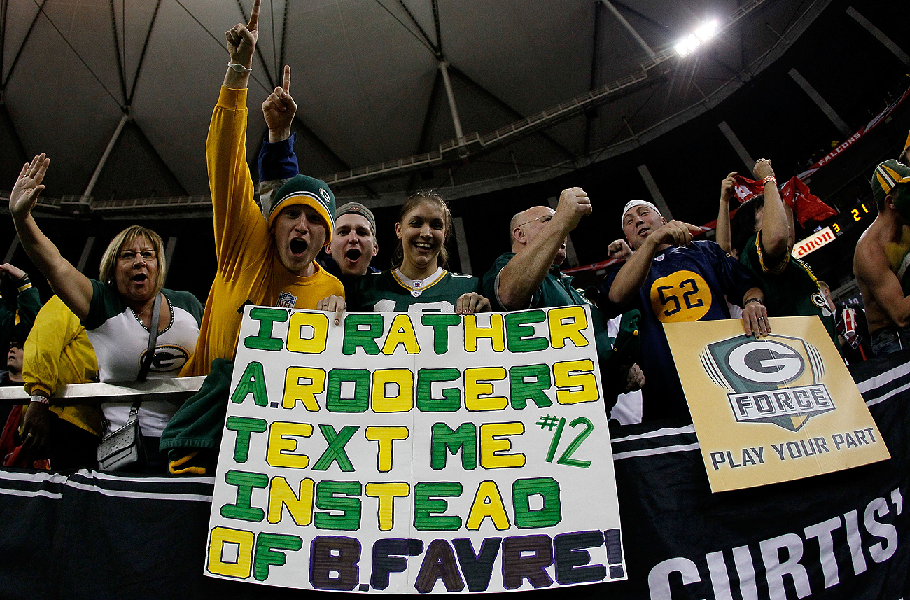 Things got messy in Green Bay after Favre and the team went their separate ways.