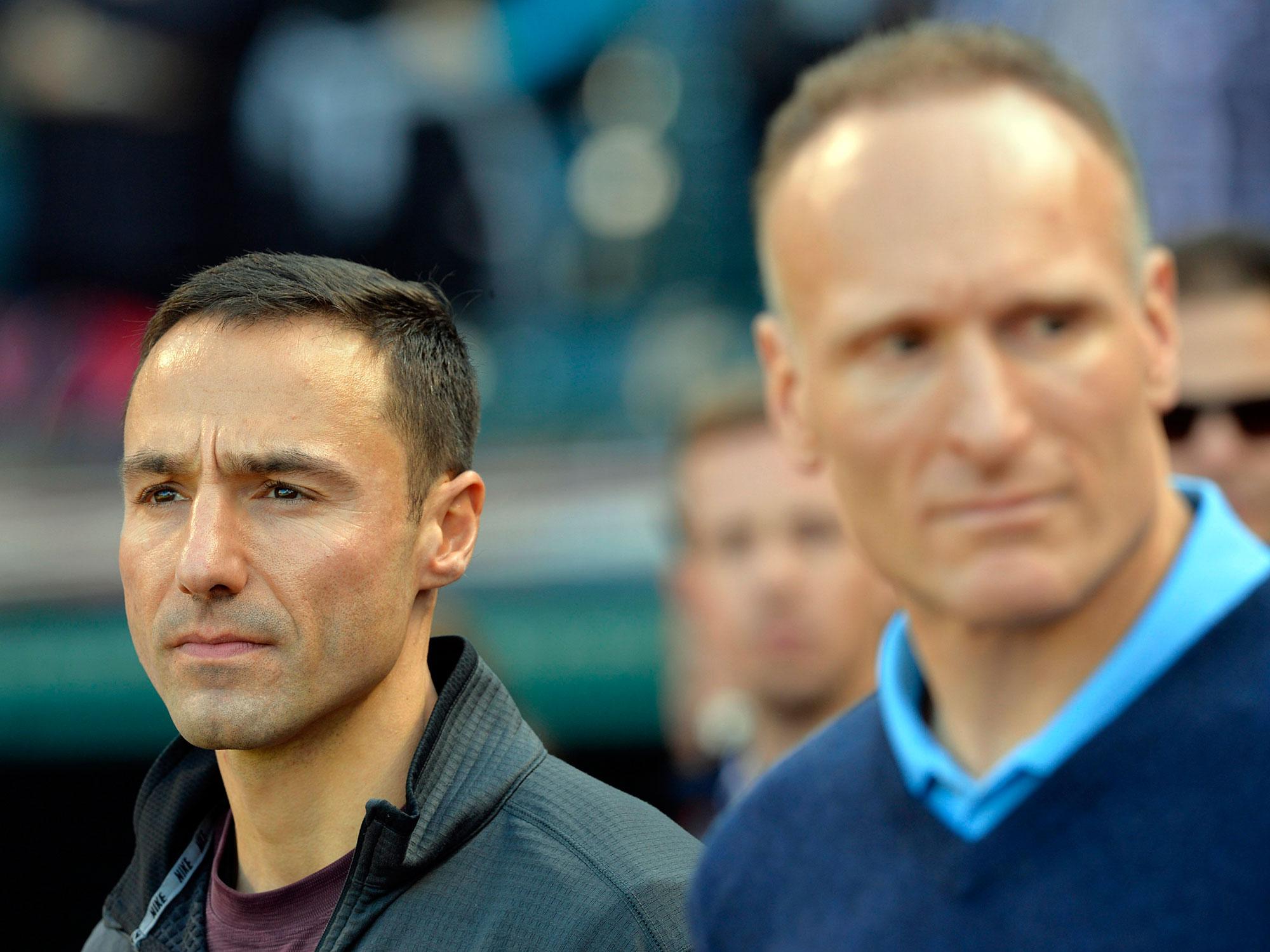 Chris Antonetti and Mark Shapiro, Cleveland Indians