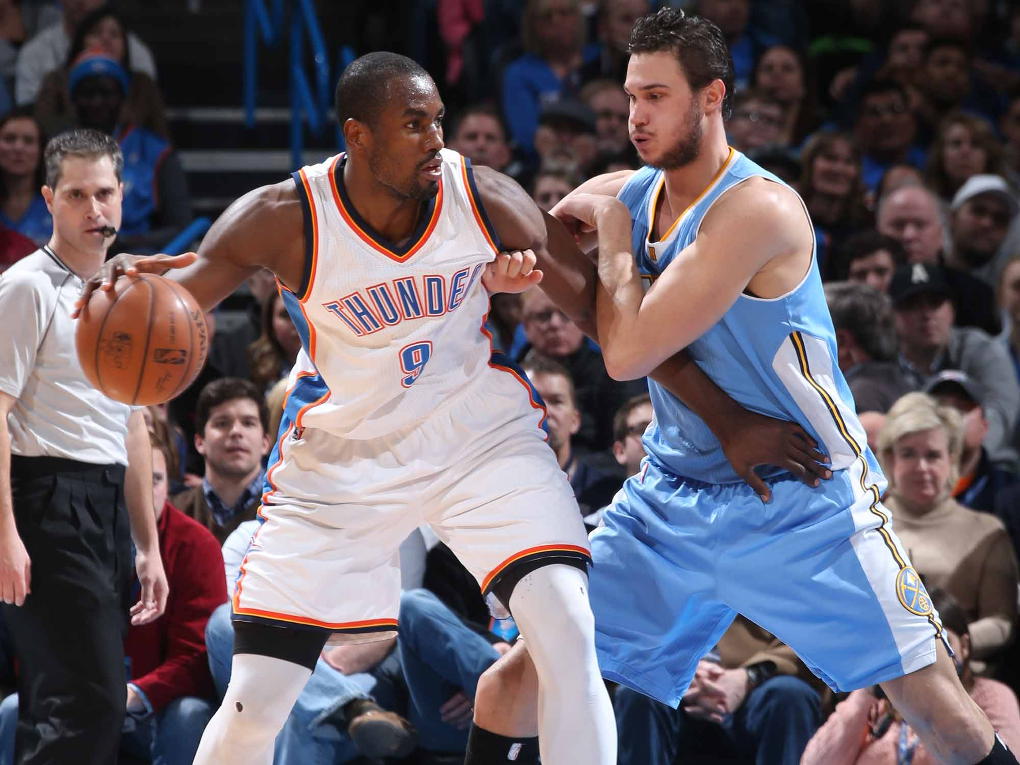Serge Ibaka and Danilo Gallinari