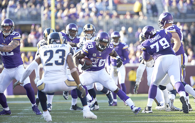 Peterson showed no signs of slowing down in his age-30 season.