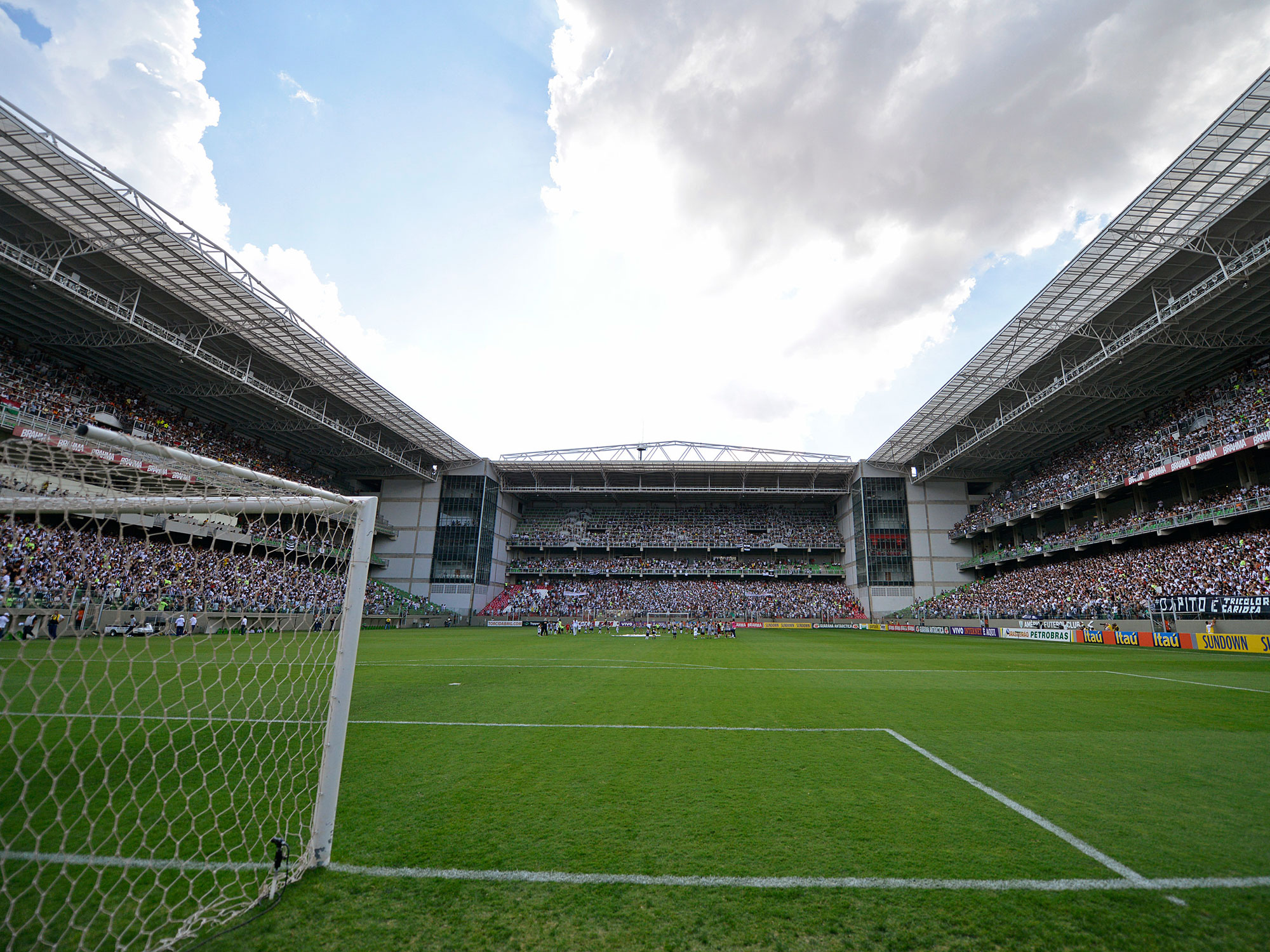 Estadio Independencia in Belo Horizonte, Brazil