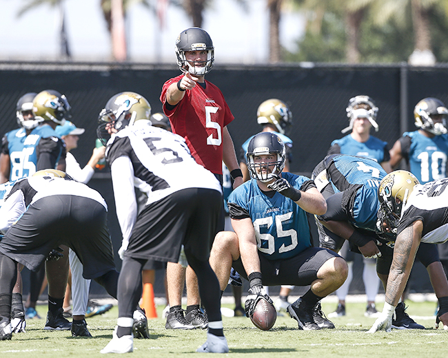 Bortles is already pointing to big improvements on the defensive side of the ball.