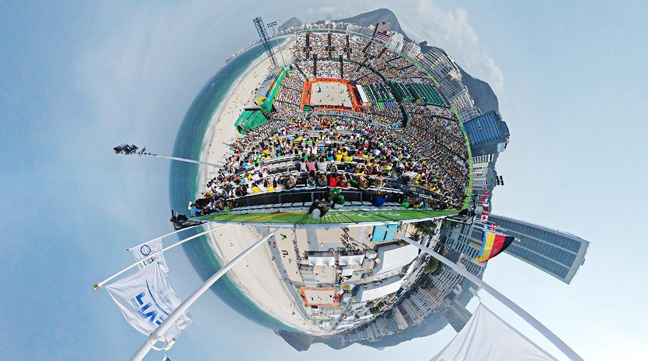 2016 Rio Olympics: Copacabana, Beach Volleyball