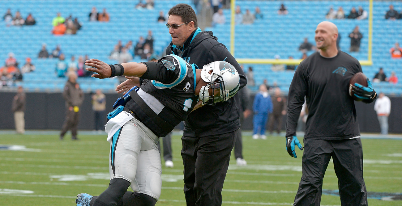 Cam Newton and Ron Rivera are starting from scratch after a disappointing end to an otherwise electric 2015 season.