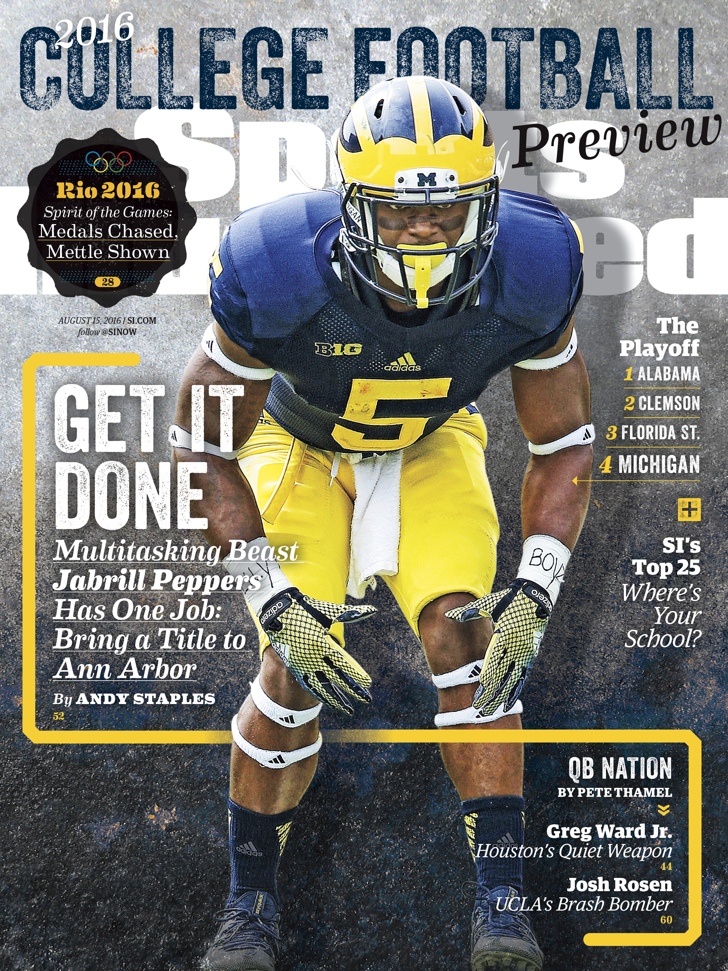 Michigan, Clemson headline SI's college football preview covers | SI com