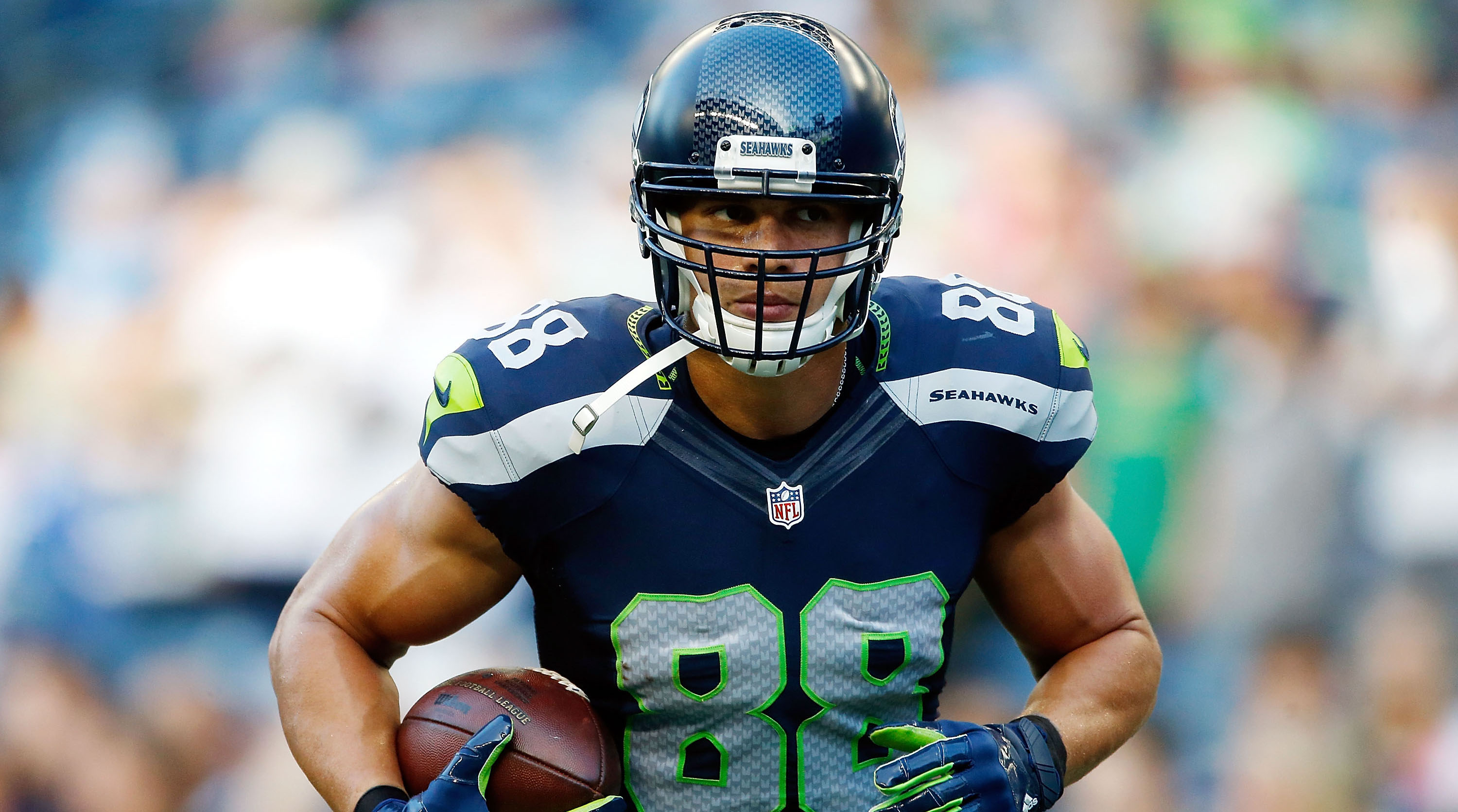 Jimmy Graham Seahawks TE discusses road to recovery