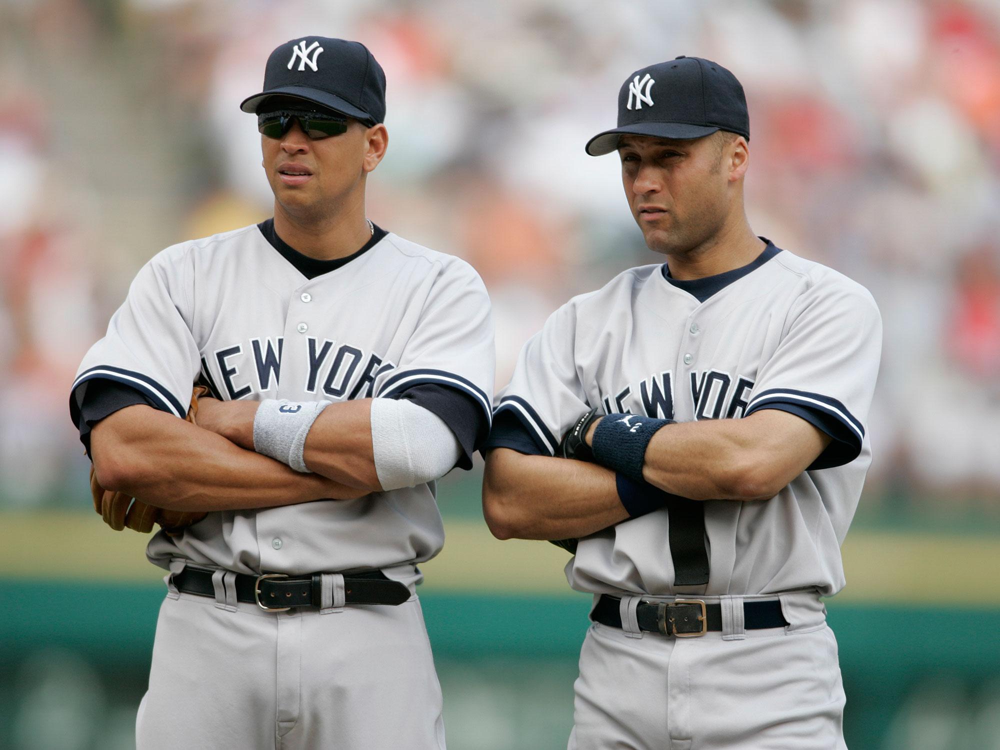 Alex Rodriguez and Derek Jeter, New York Yankees