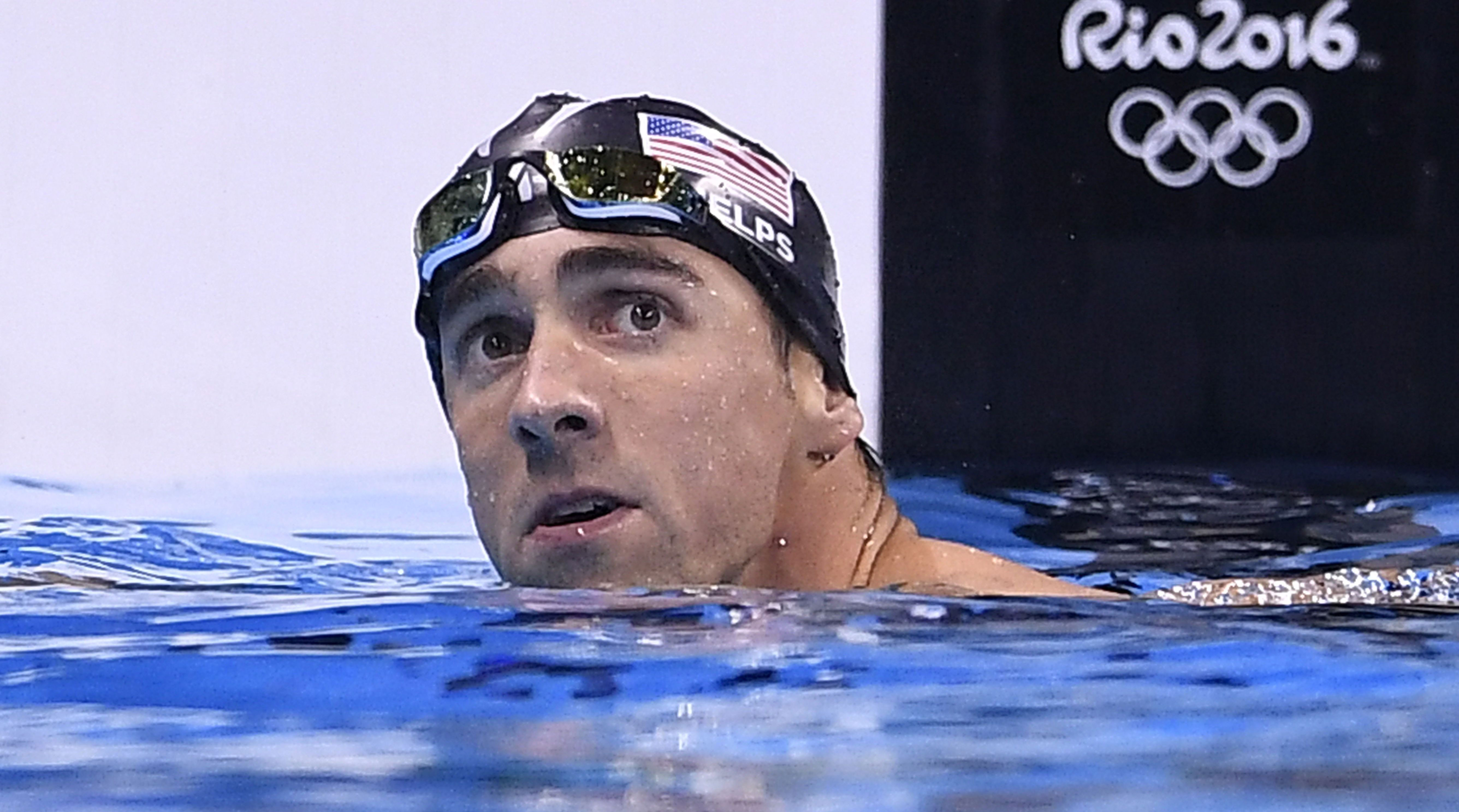 write a letter to michael phelps