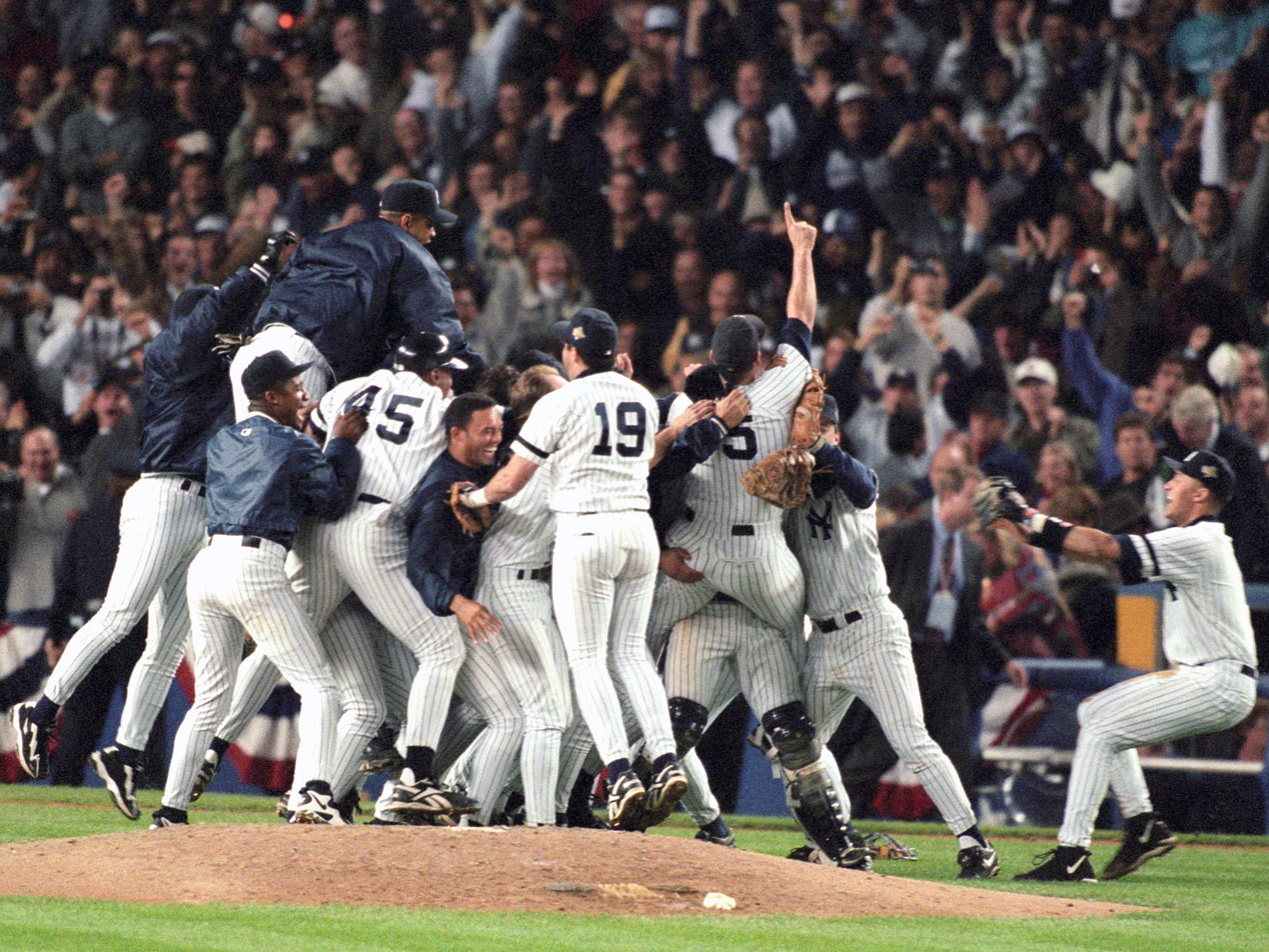 1996 Yankees and the historic World Series comeback that