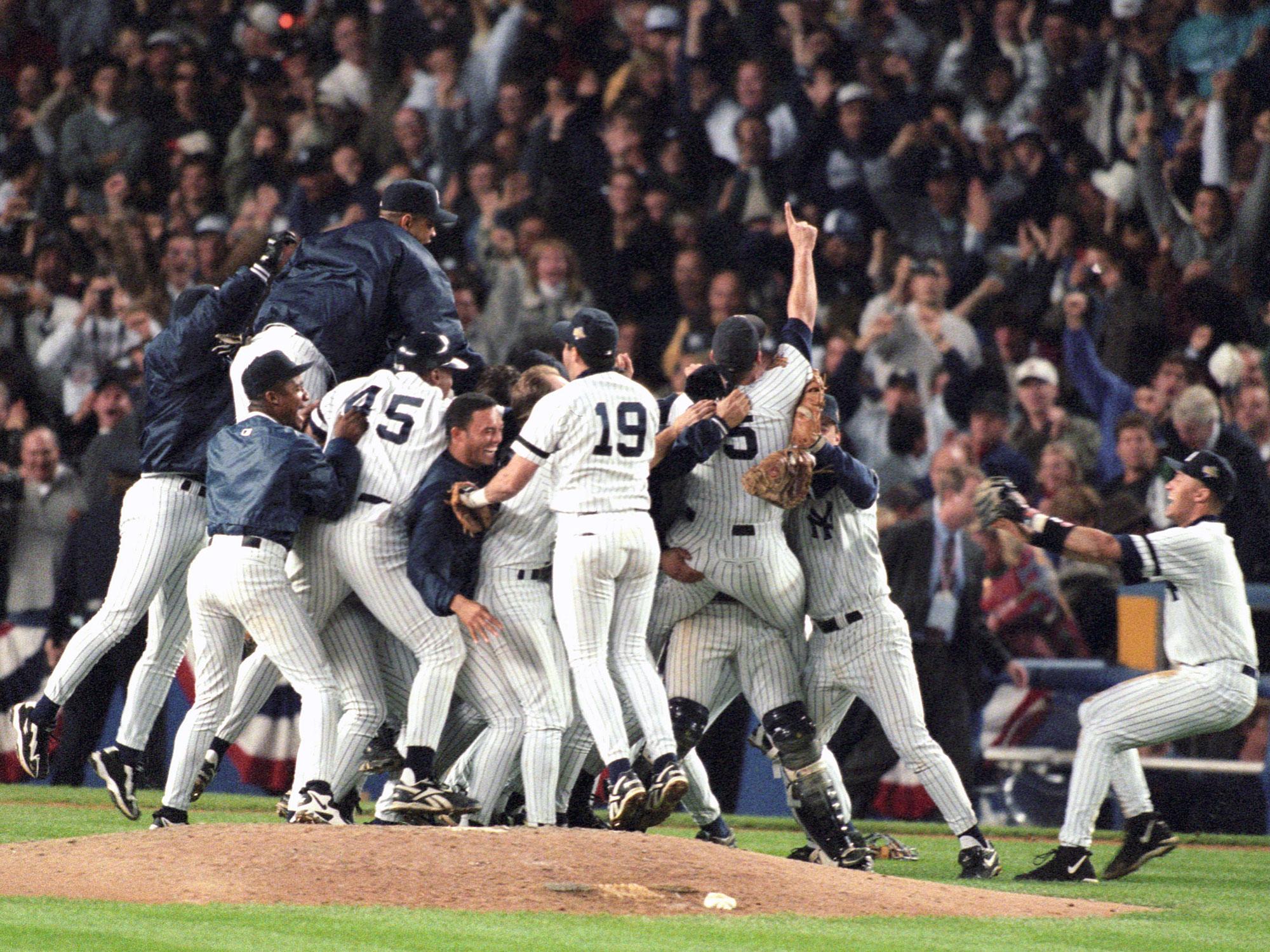 New York Yankees win World Series, 1996