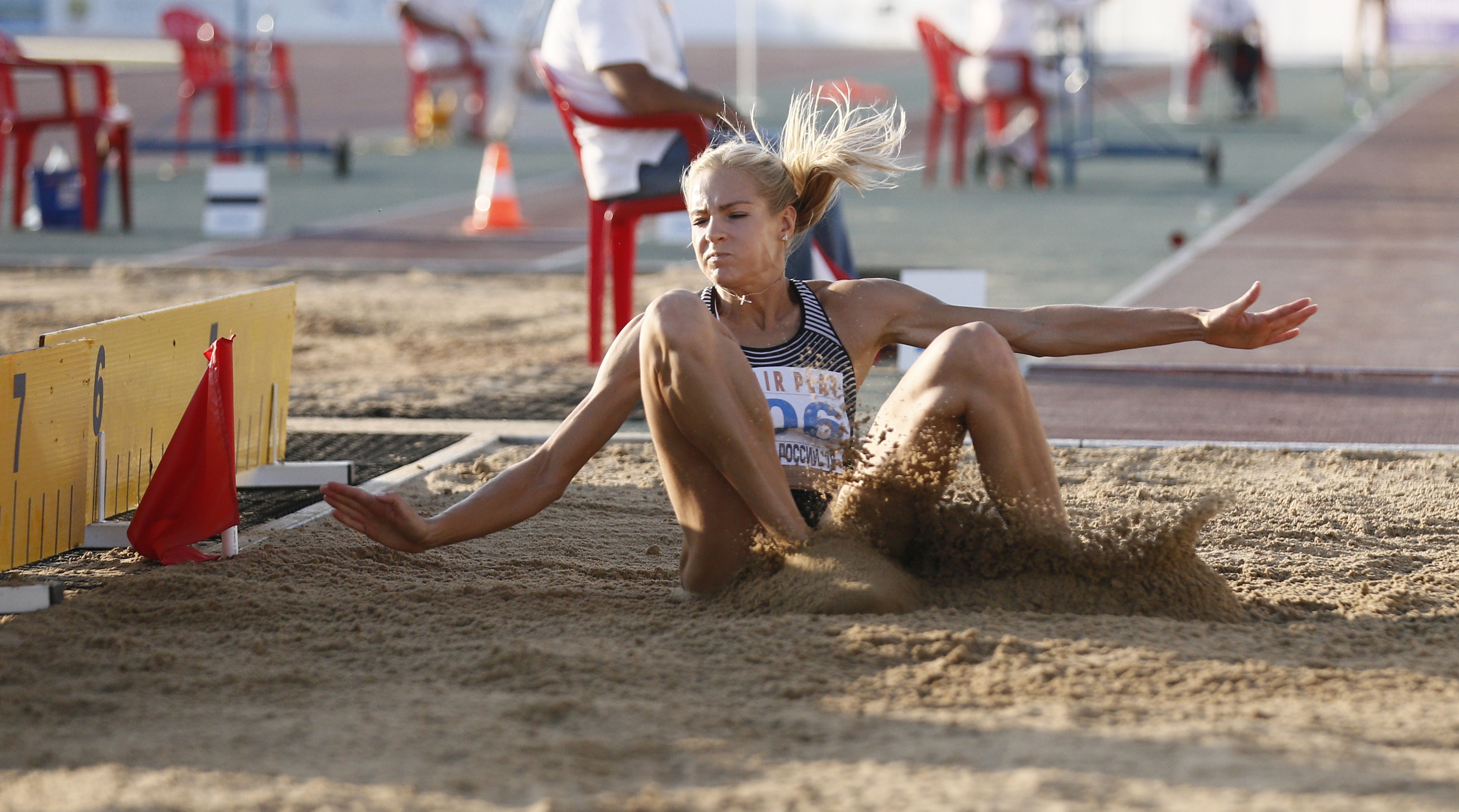 Russian jumper Daria Klishina was suspended from participation in the Olympiad 13.08.2016