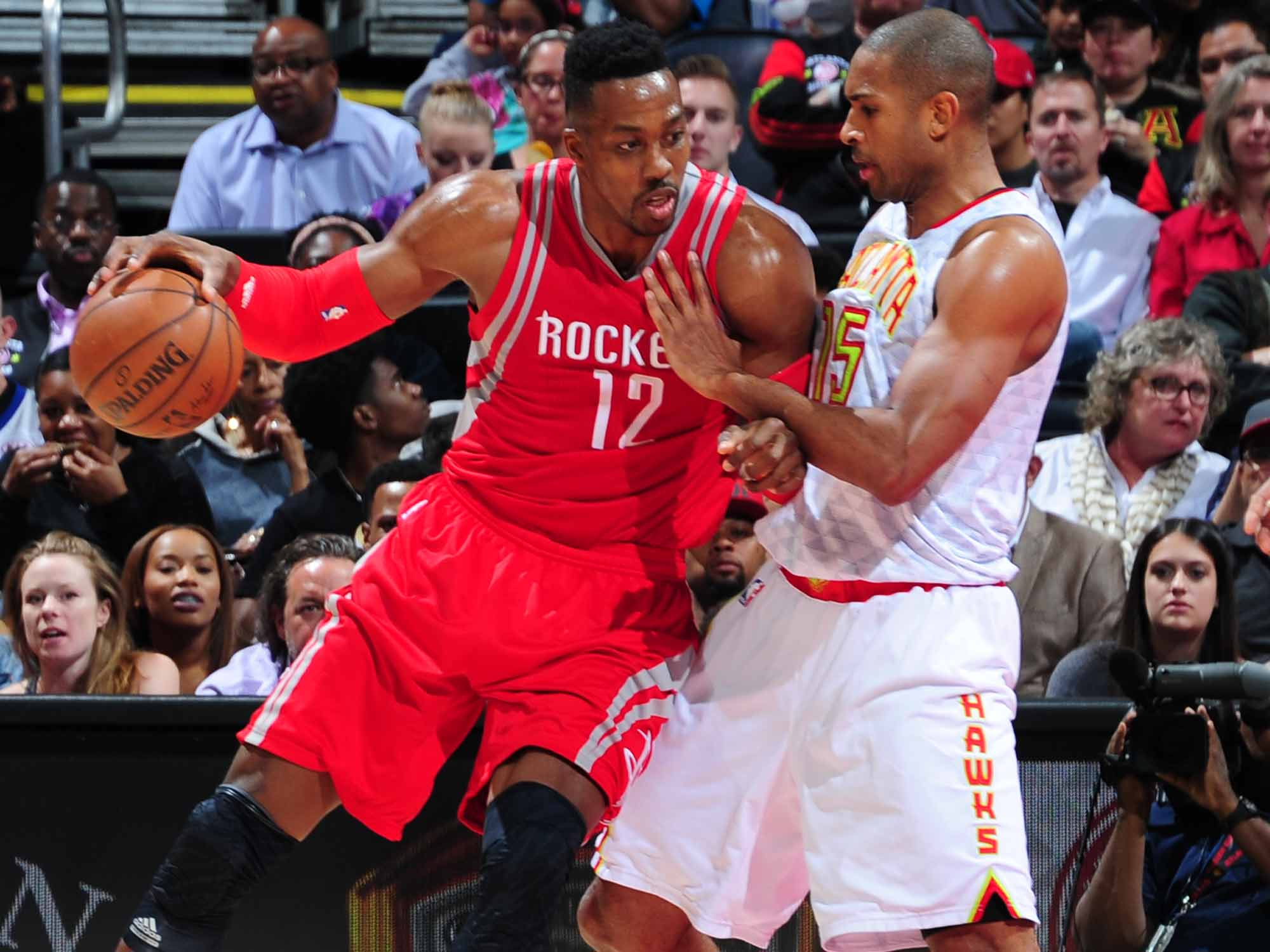 Dwight Howard and Al Horford