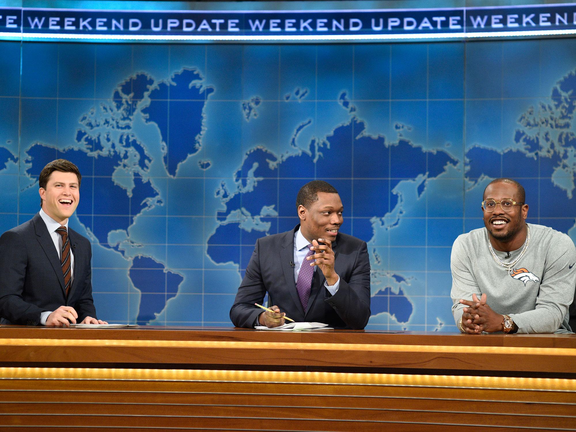 Von Miller on Saturday Night Live