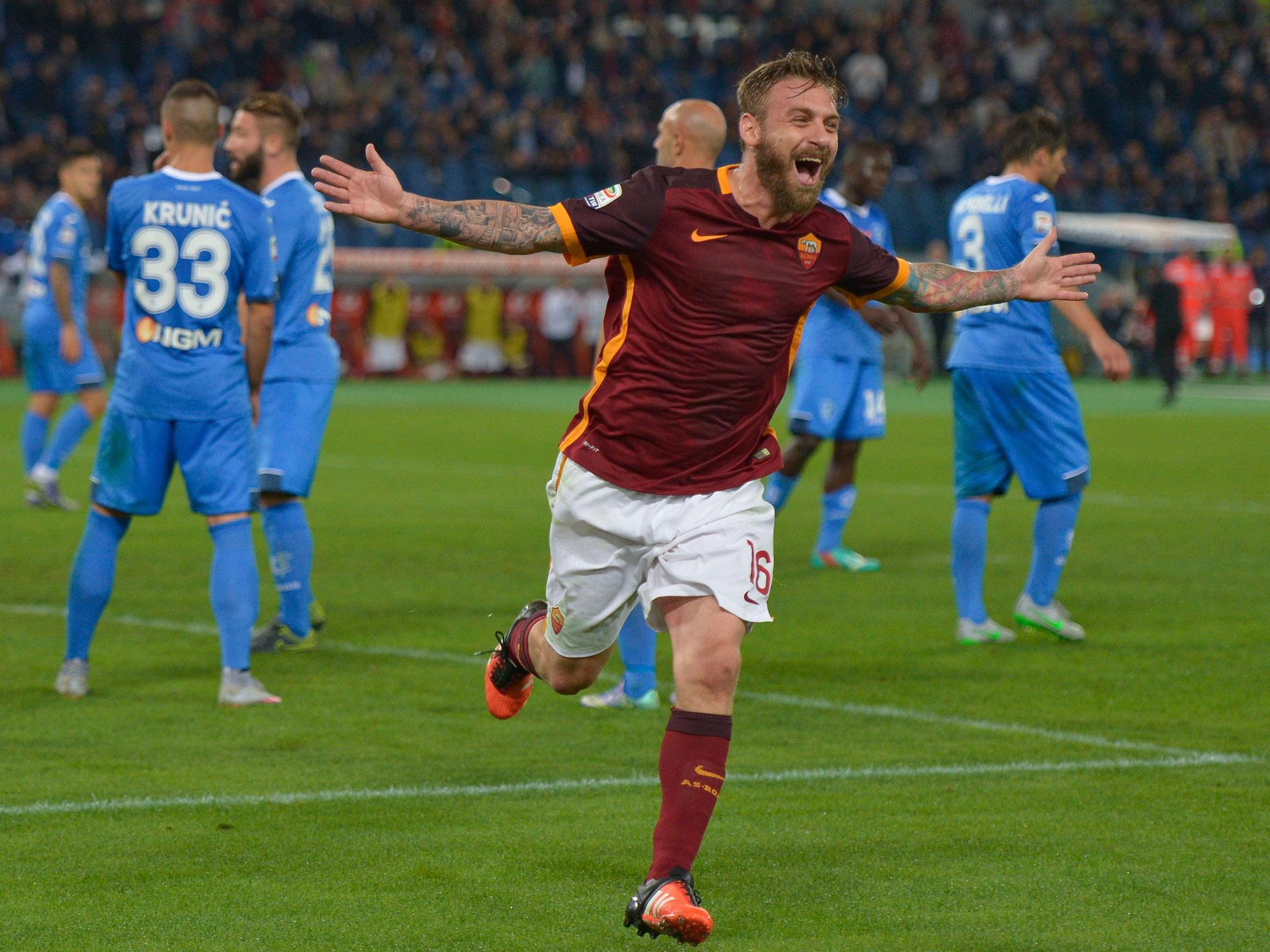 Daniele De Rossi is an AS Roma staple