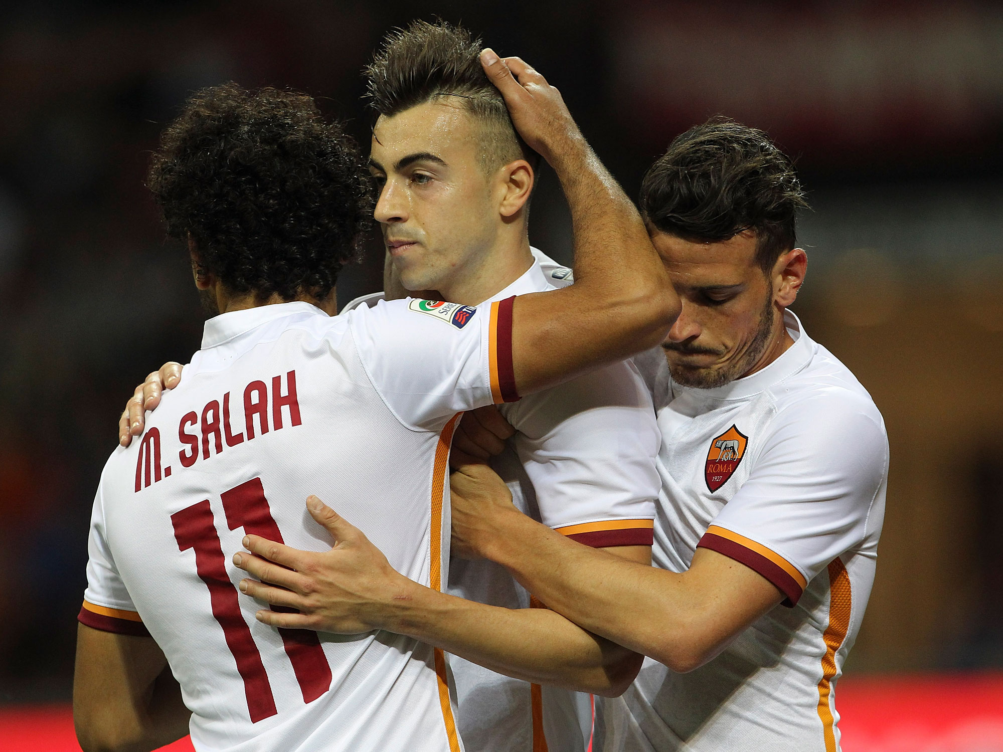 AS Roma's Mohamed Salah and Stephan El Shaarawy are part of the club's younger core