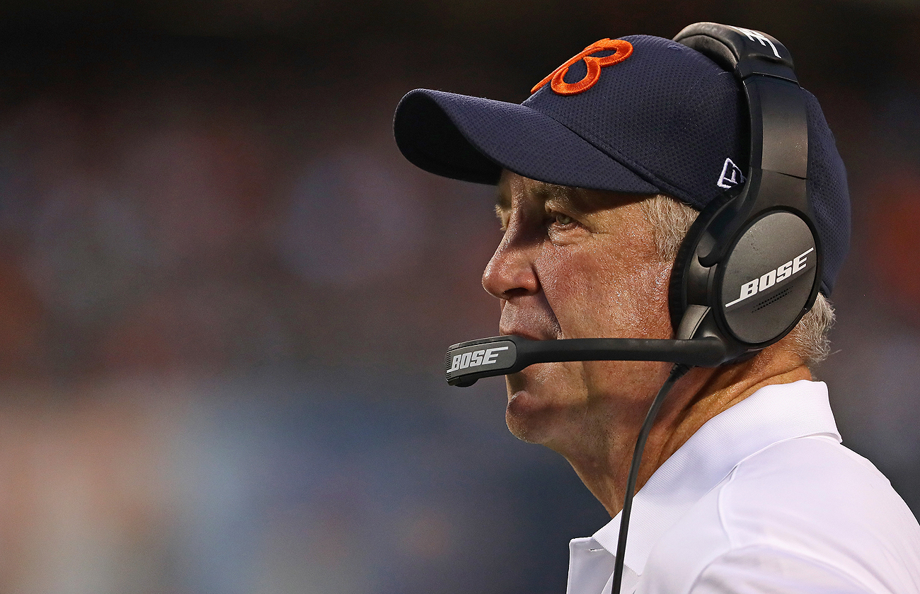 John Fox is hoping to help the Bears improve after a 6-10 season in 2015.