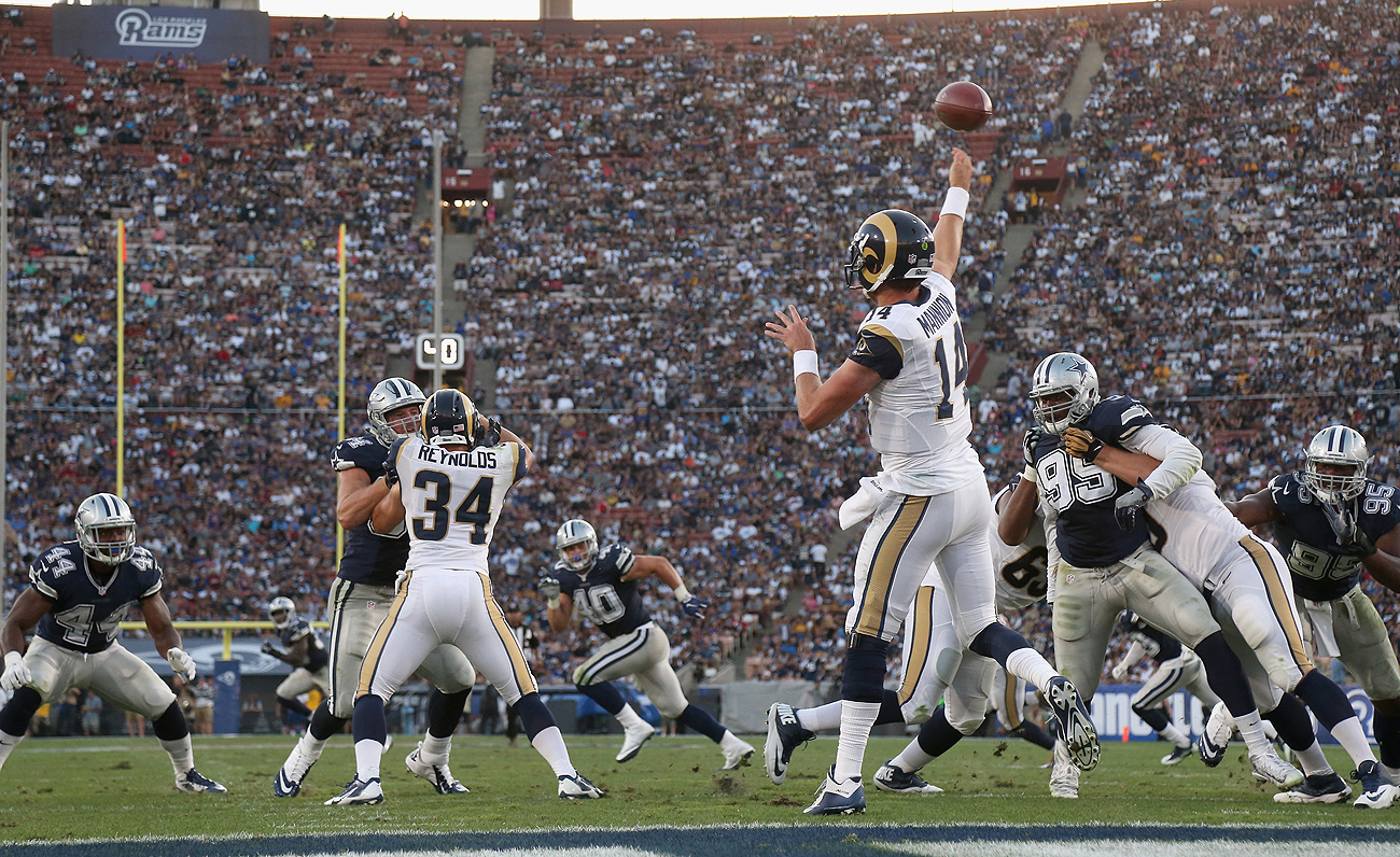 When the shine wears off, will the Rams continue to draw big crowds to the Coliseum?