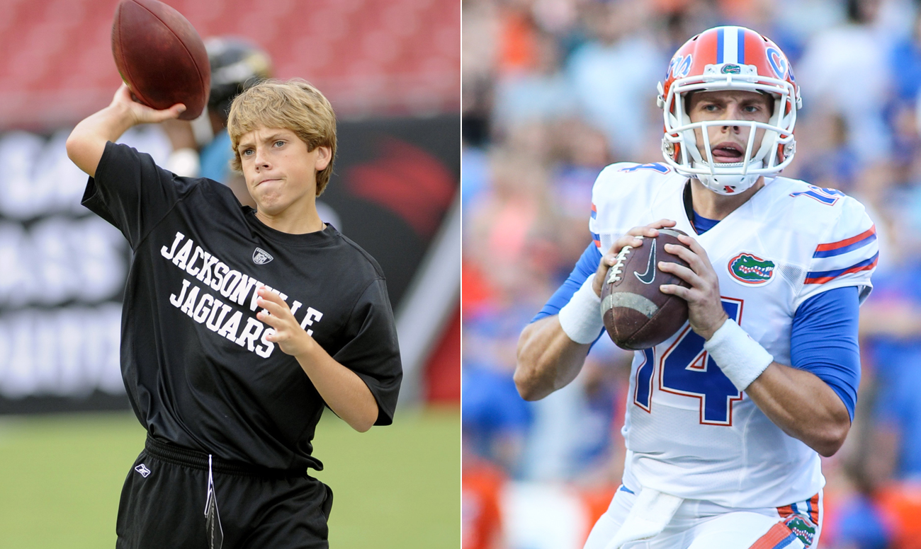 Luke Del Rio went from Jaguars ball boy in 2008 to Gators starting quarterback in 2016, with more than a few stops in between.