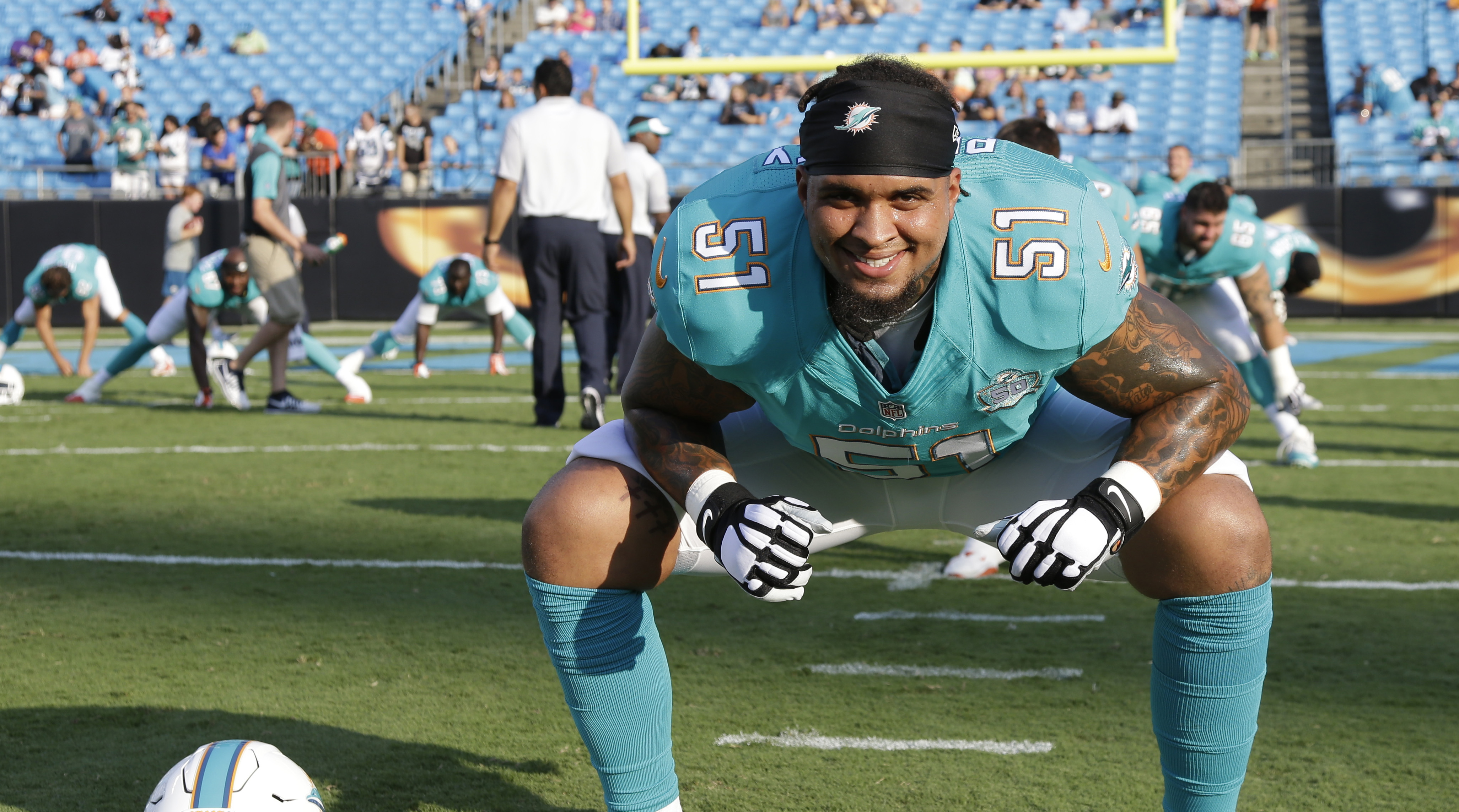 Miami Dolphins Mike Pouncey could miss season opener