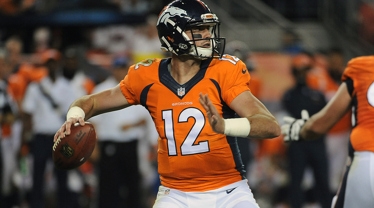 Rookie Paxton Lynch played his way into Denver's starting quarterback conversation with an impressive performance against the Niners on Saturday.