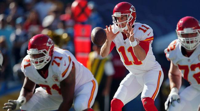 Kansas City Chiefs quarterback Alex Smith.