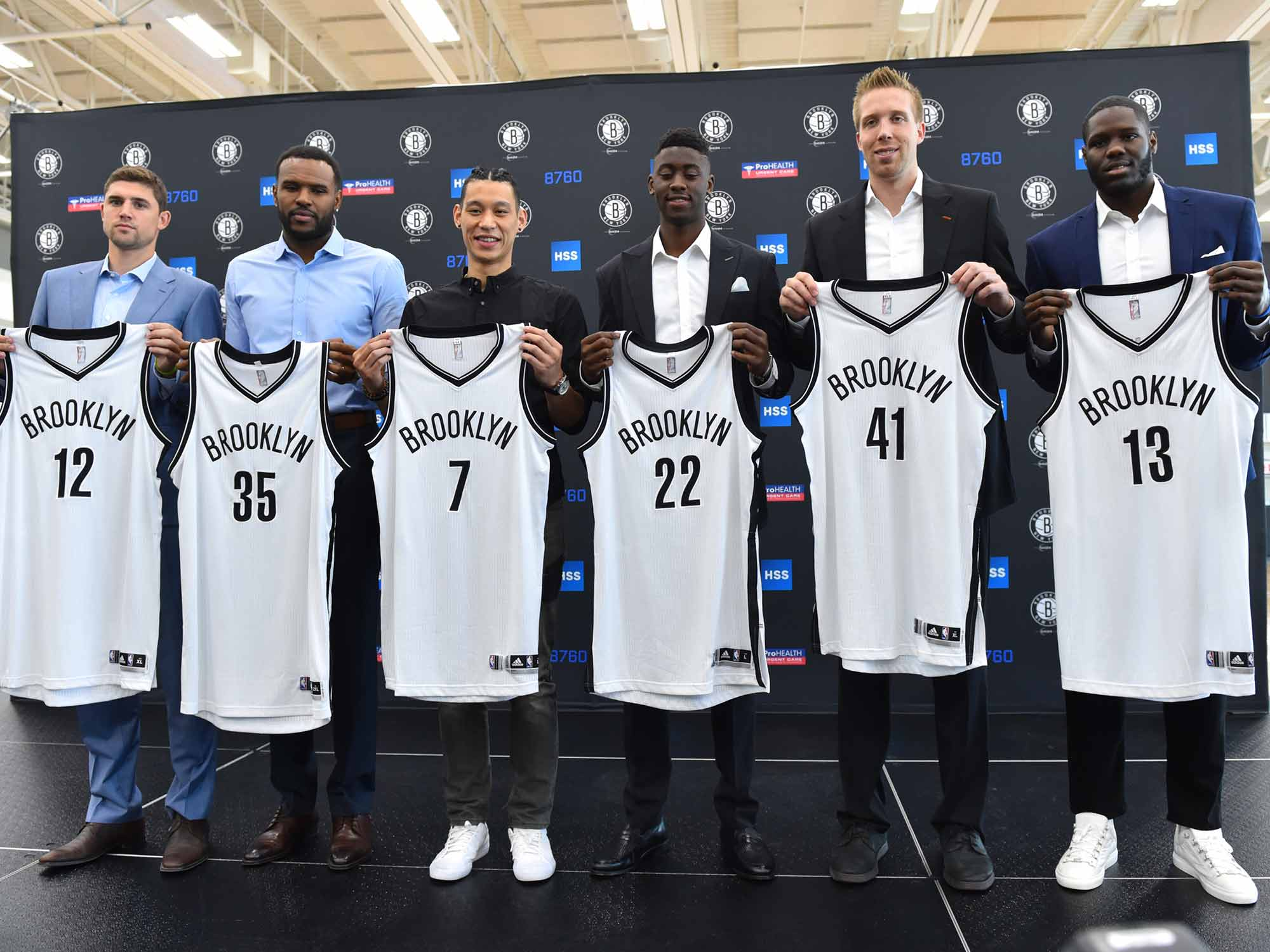 Brooklyn Nets' free-agent signings