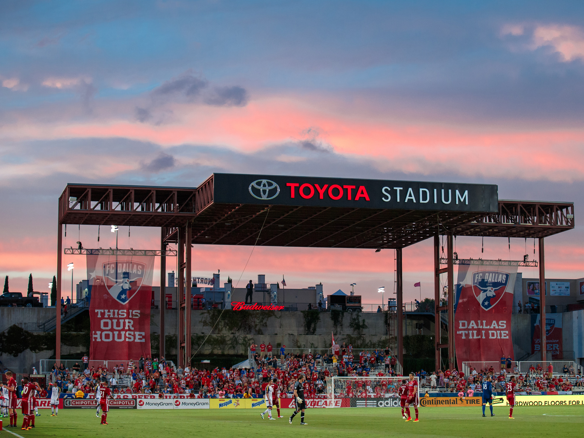 FC Dallas's home venue, Toyota Stadium