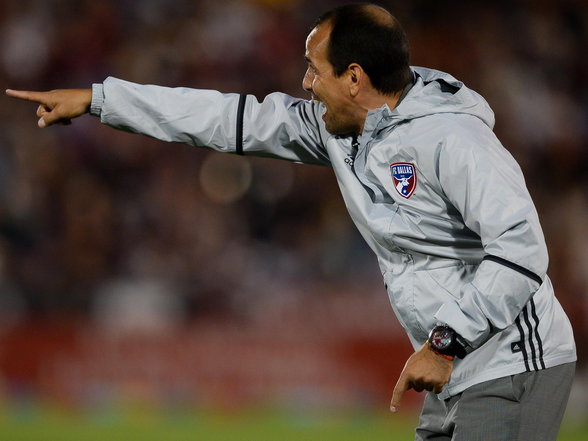 FC Dallas manager Oscar Pareja