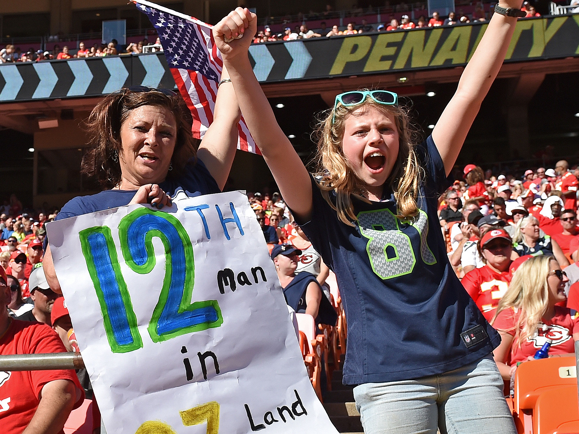 NFL female fans