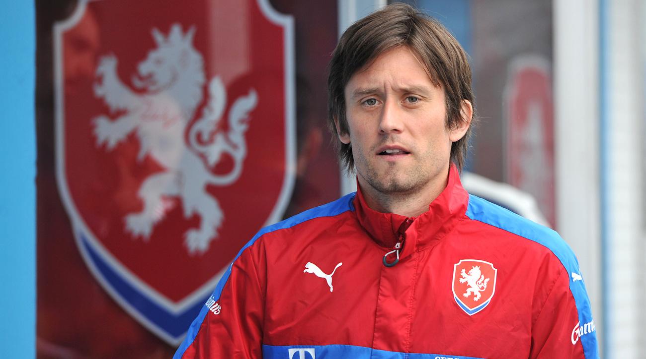 Tomas Rosicky has returned to Sparta Prague