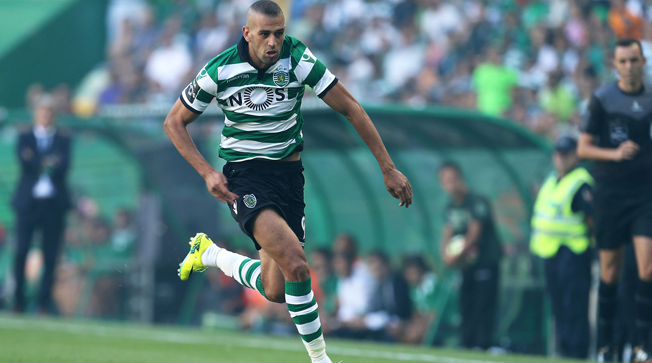 islam slimani signs leicester city sporting lisbon