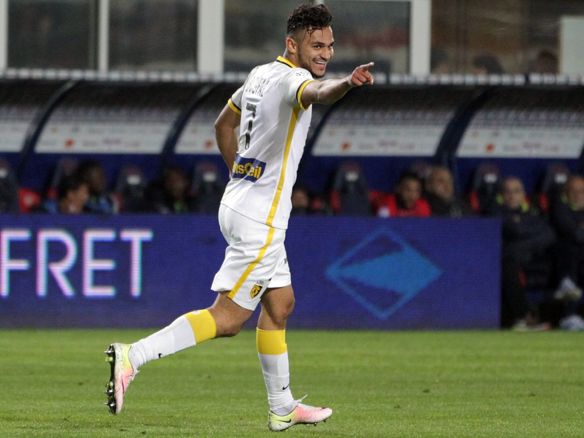 Sofiane Boufal has high expectations at Southampton