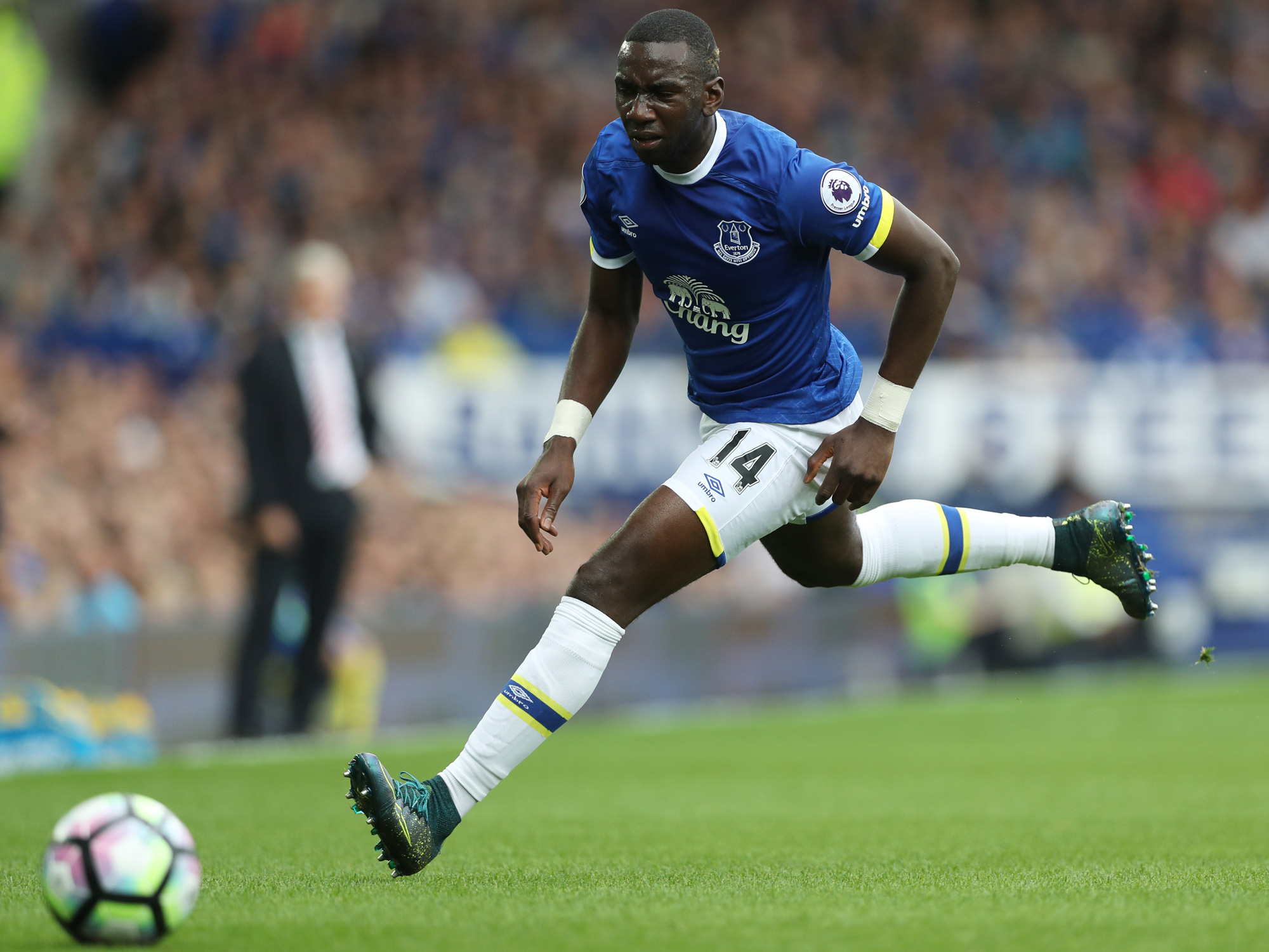 Yannick Bolasie has big expectations at Everton after leaving Crystal Palace