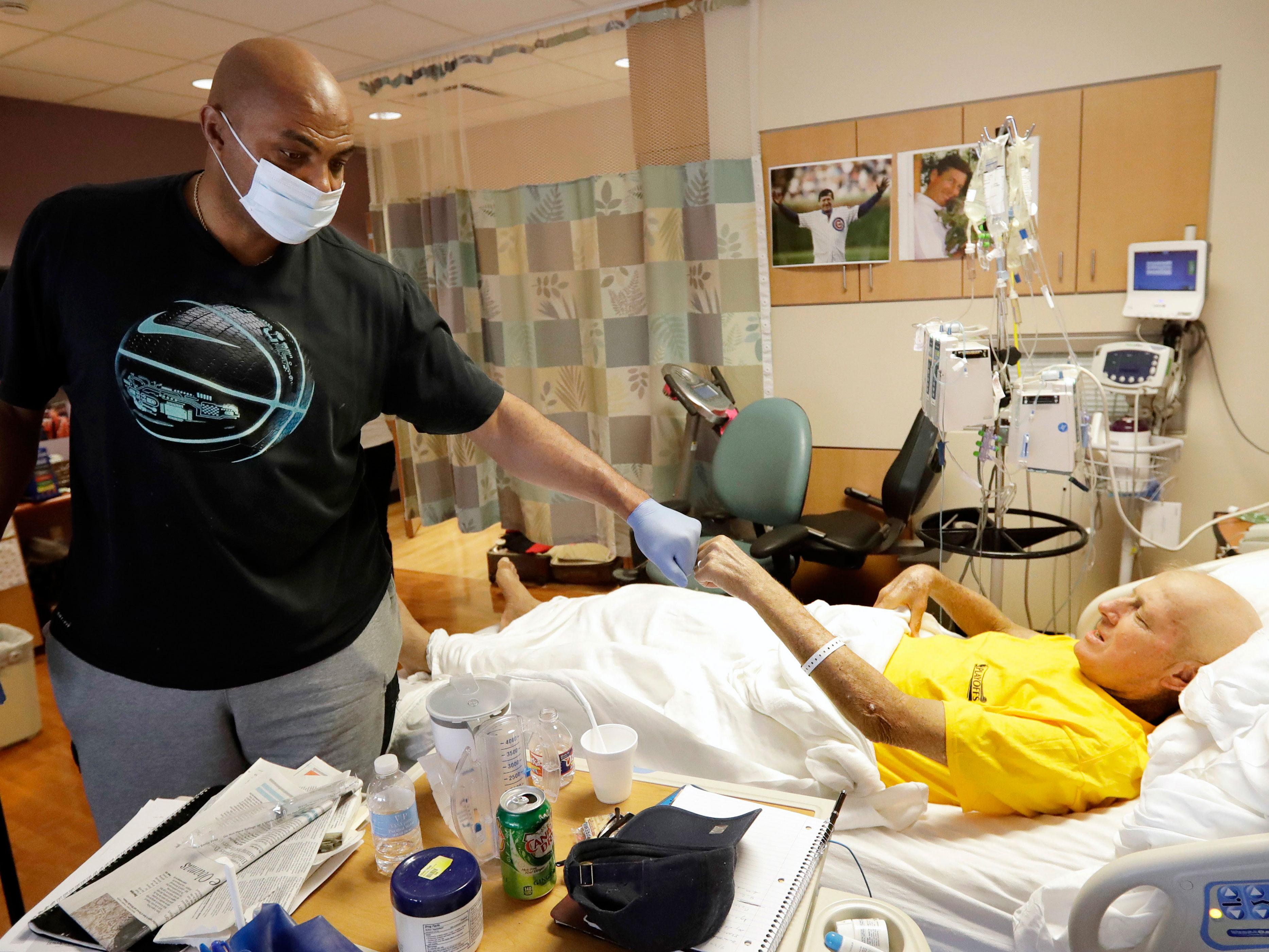 craig sager charles barkley hospital