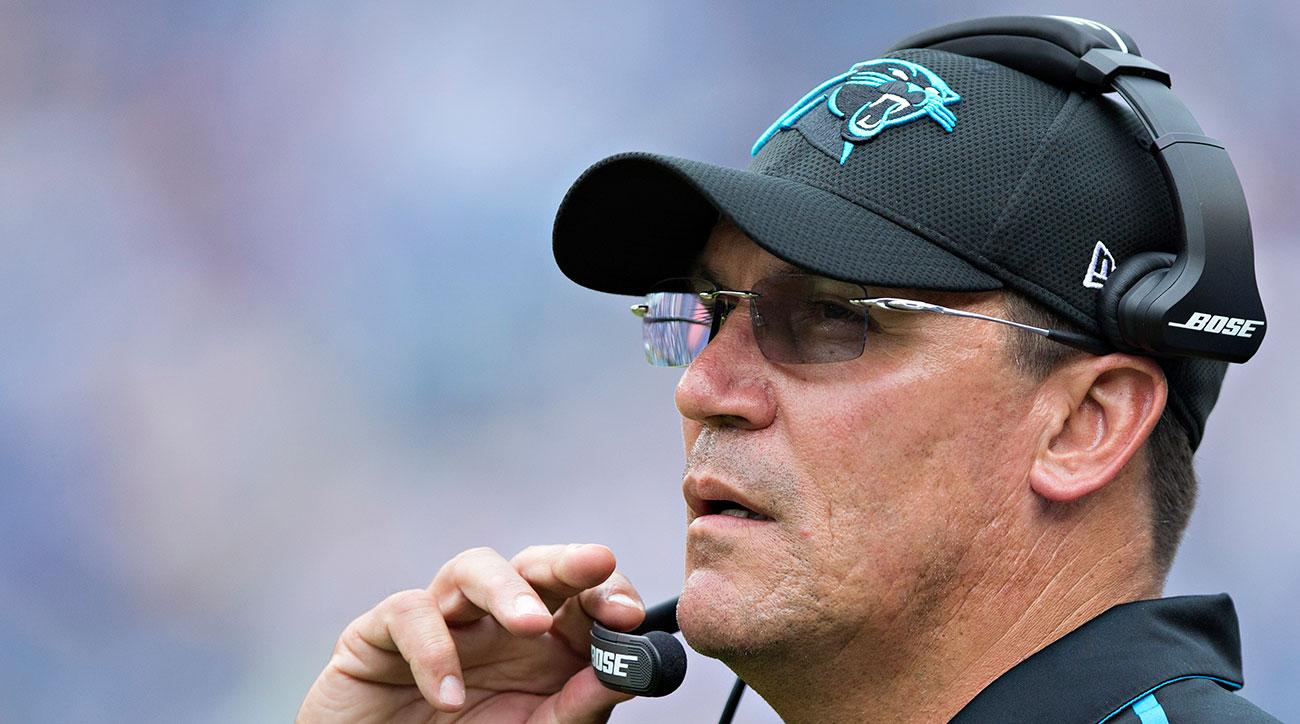 Panthers coach Ron Rivera.
