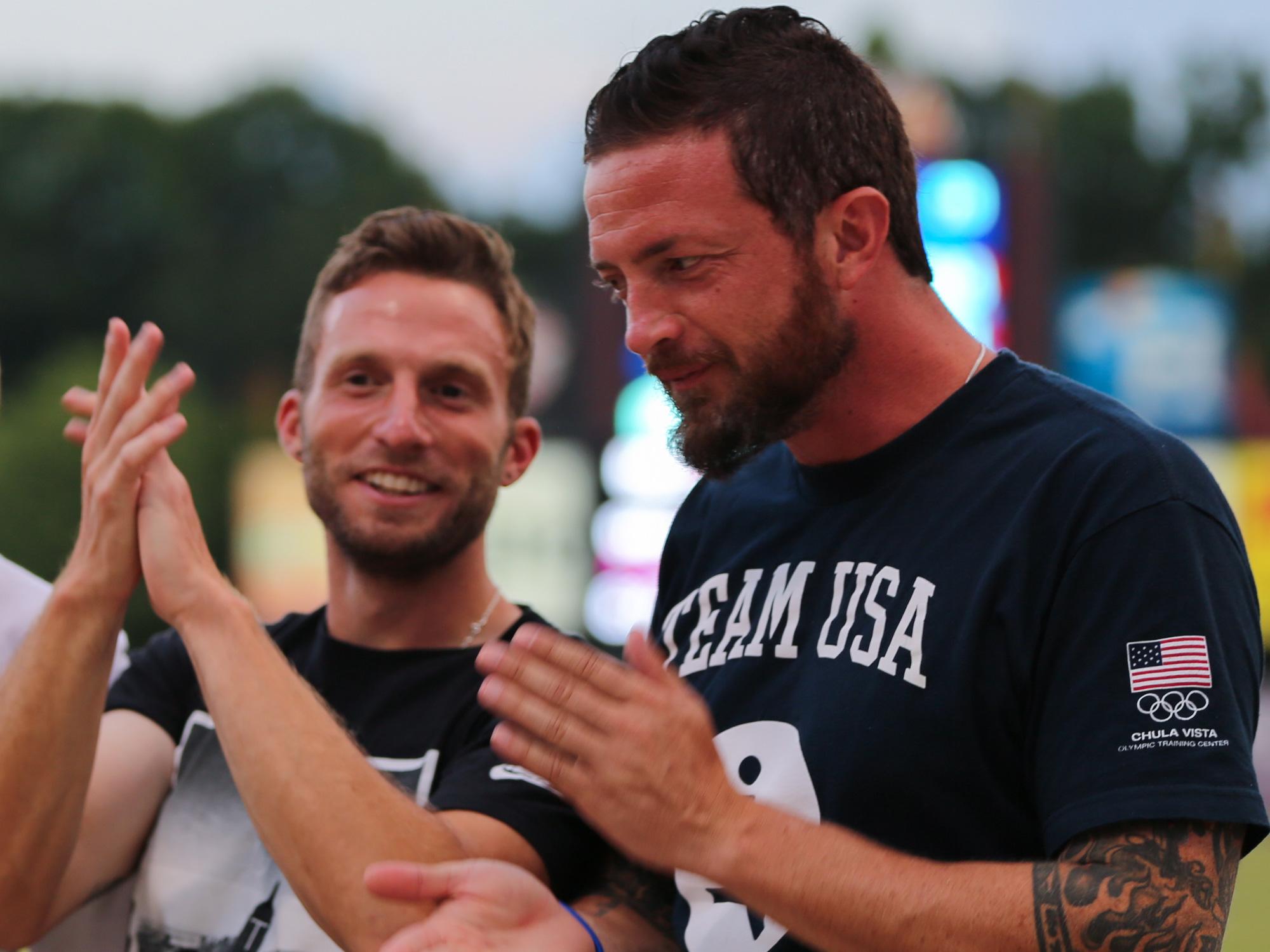 USA Soccer Paralympians Josh Brunais and Seth Jahn