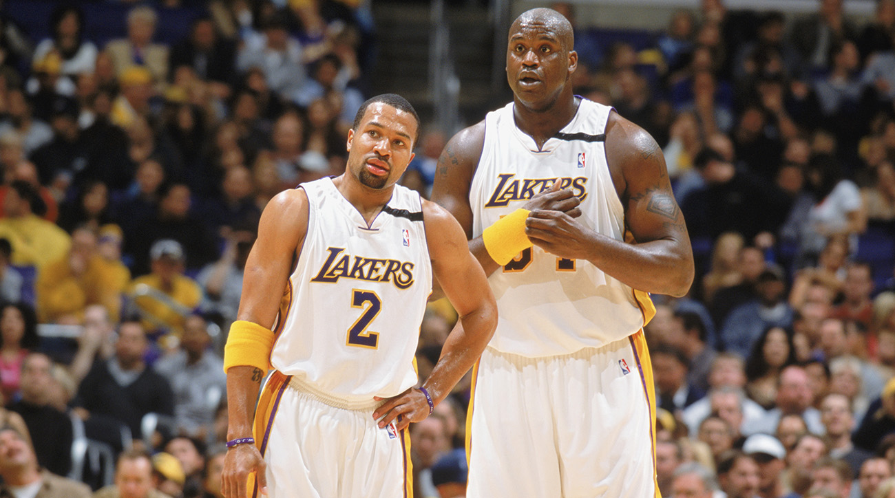 Derek Fisher recalls private moments with HOF Shaquille O Neal