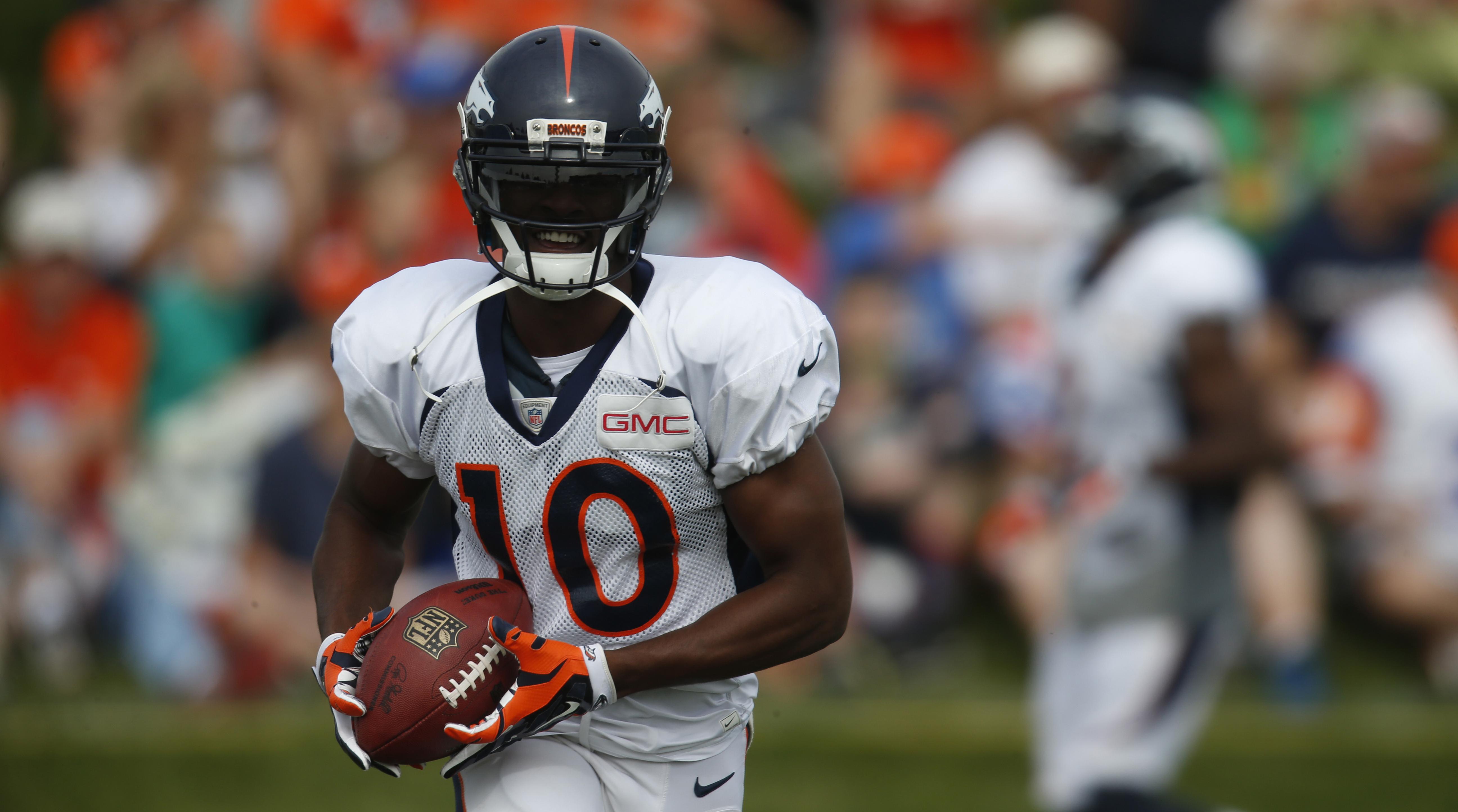 Emmanuel Sanders Broncos WR s contract extension