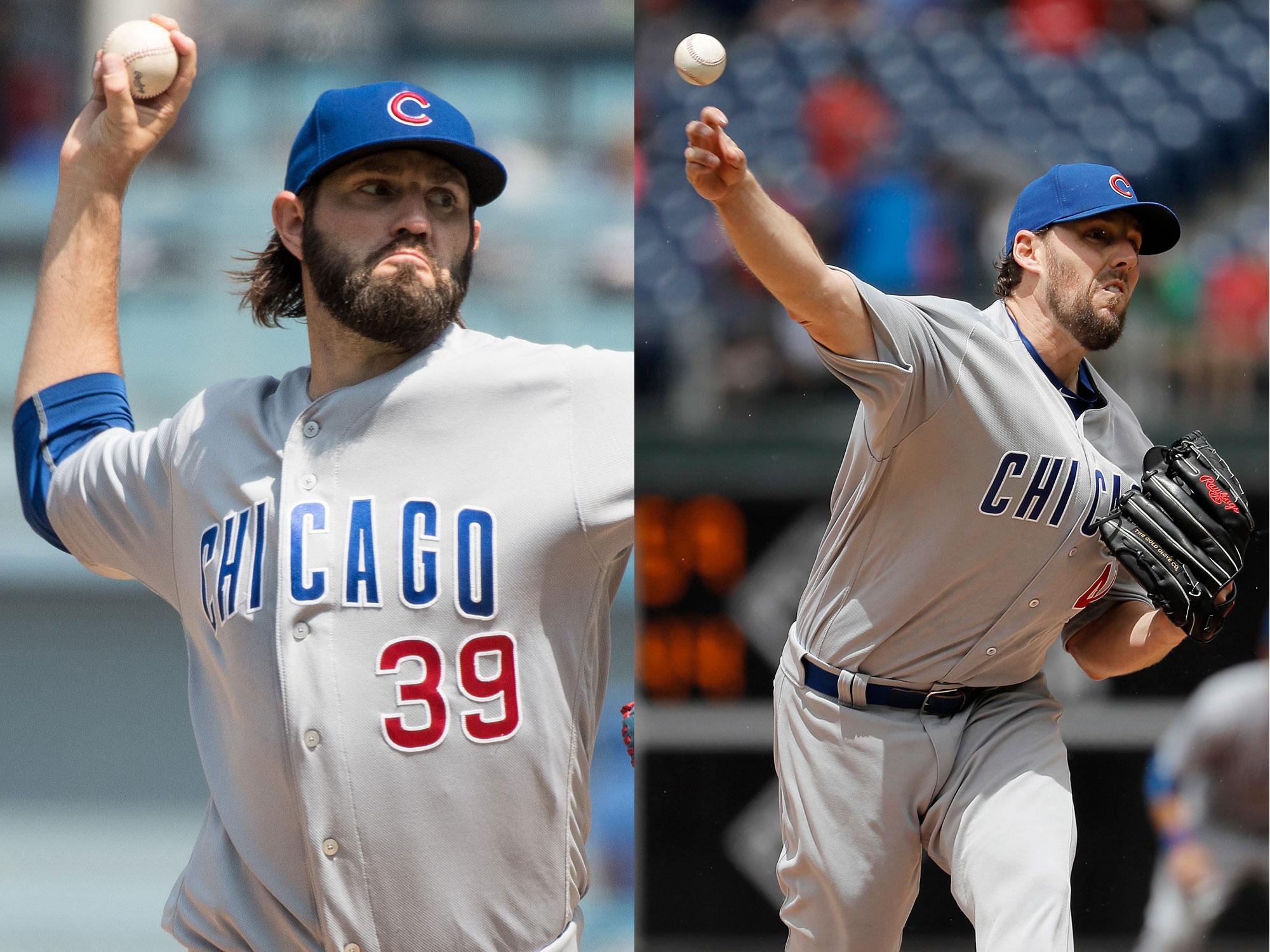 Jason Hammel and John Lackey, Chicago Cubs
